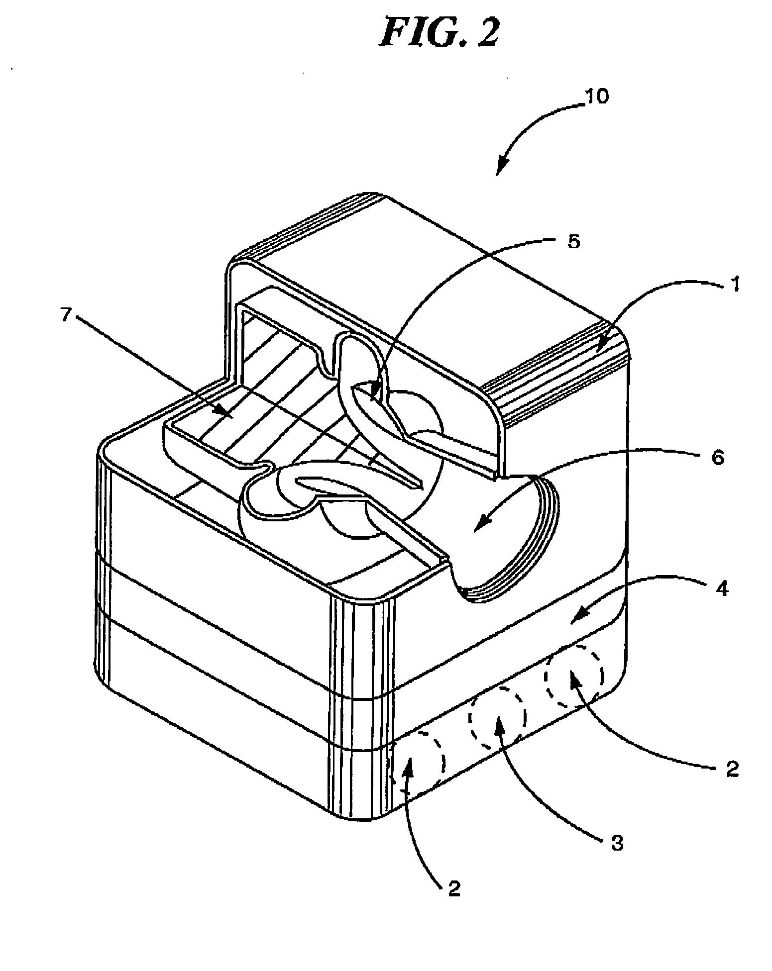 Patent US pressor less micro gas turbine power
