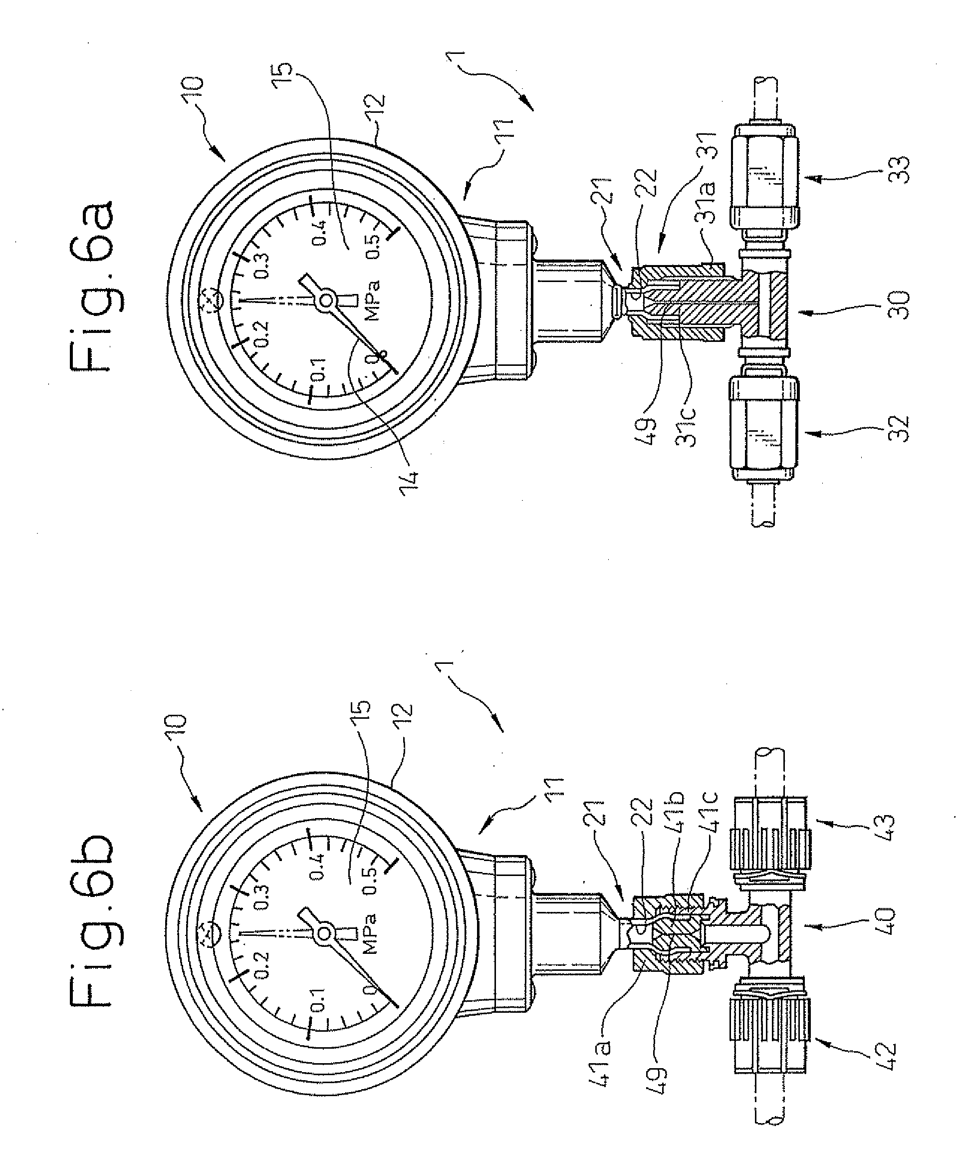 patent us20090301207 pressure gauge and pressure gauge assembly