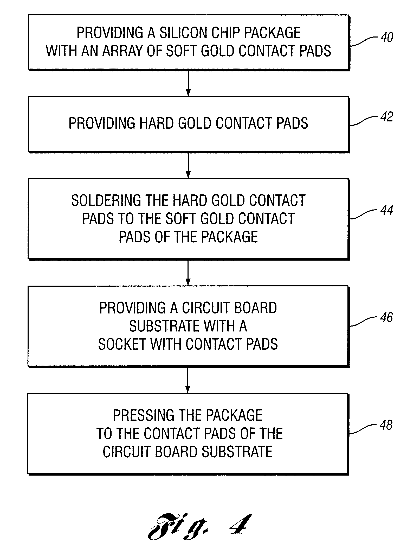 Patente Us20090302453 Contact Pads For Silicon Chip Packages Circuit Board Patent Drawing