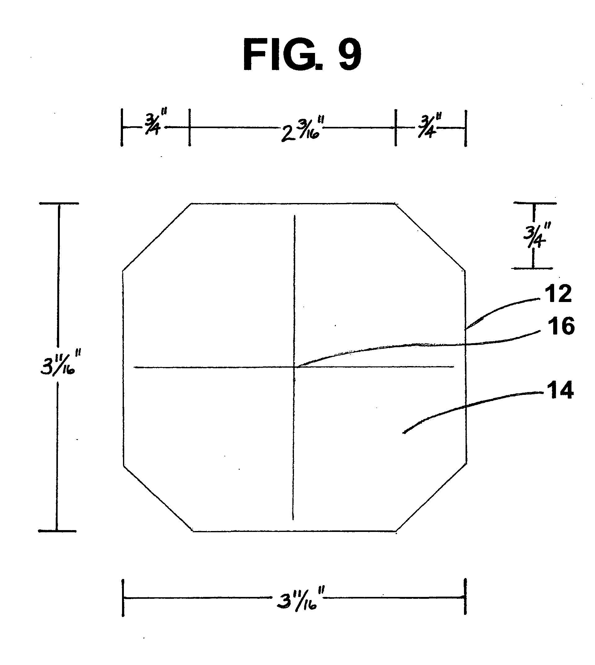 Patent Us20090313841 Template Kit For Scribing Openings