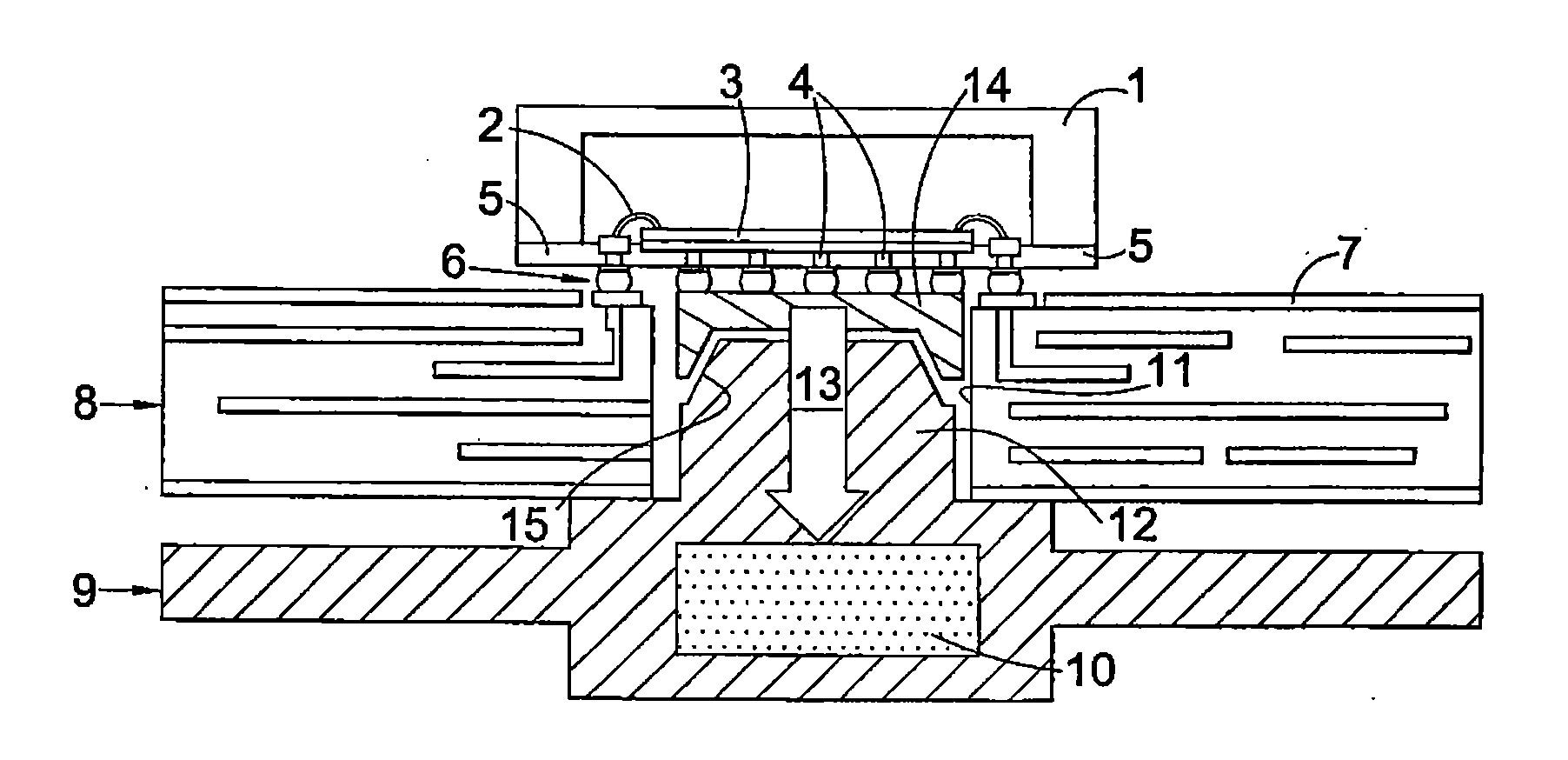 patent us20100000766 - printed circuit board assembly