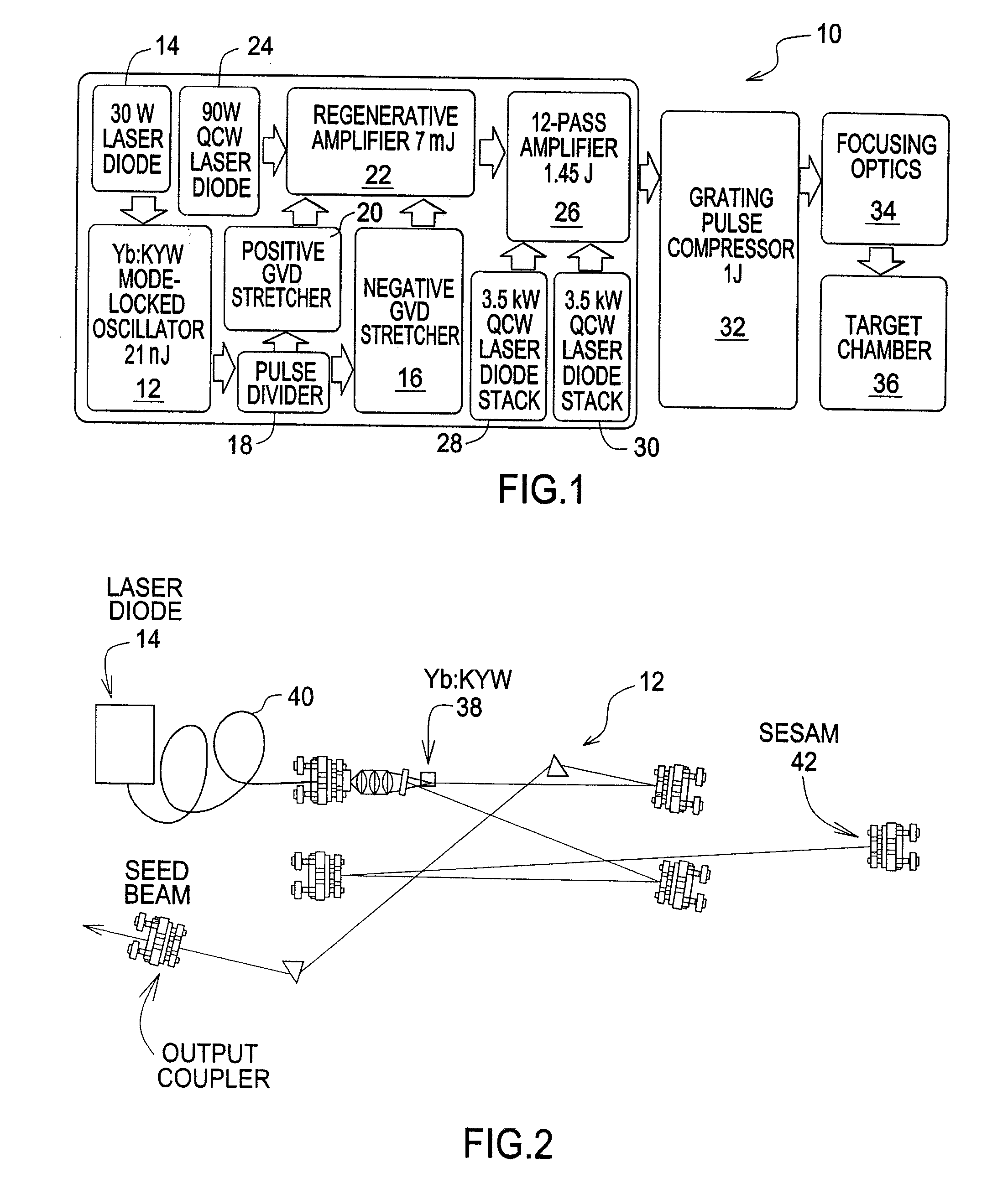 Patent Us20100040105 High Repetition Rate All Laser Diode Pumped Diagram Drawing