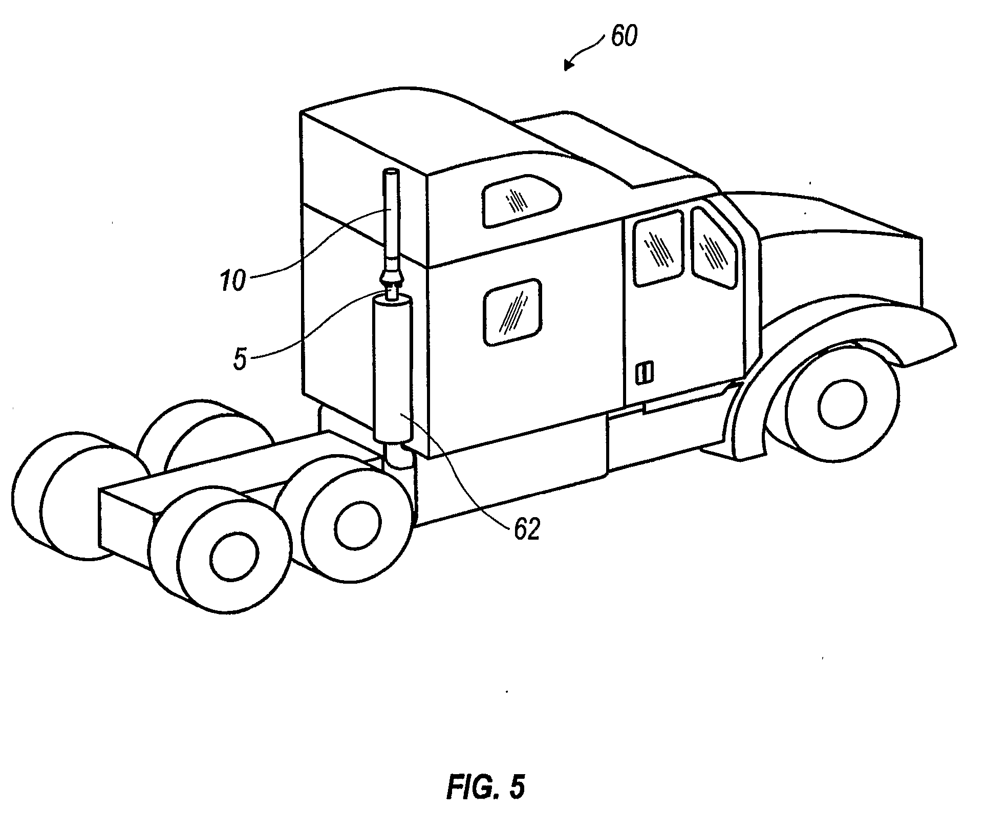 patent us20100043412 exhaust diffuser for a truck google patents