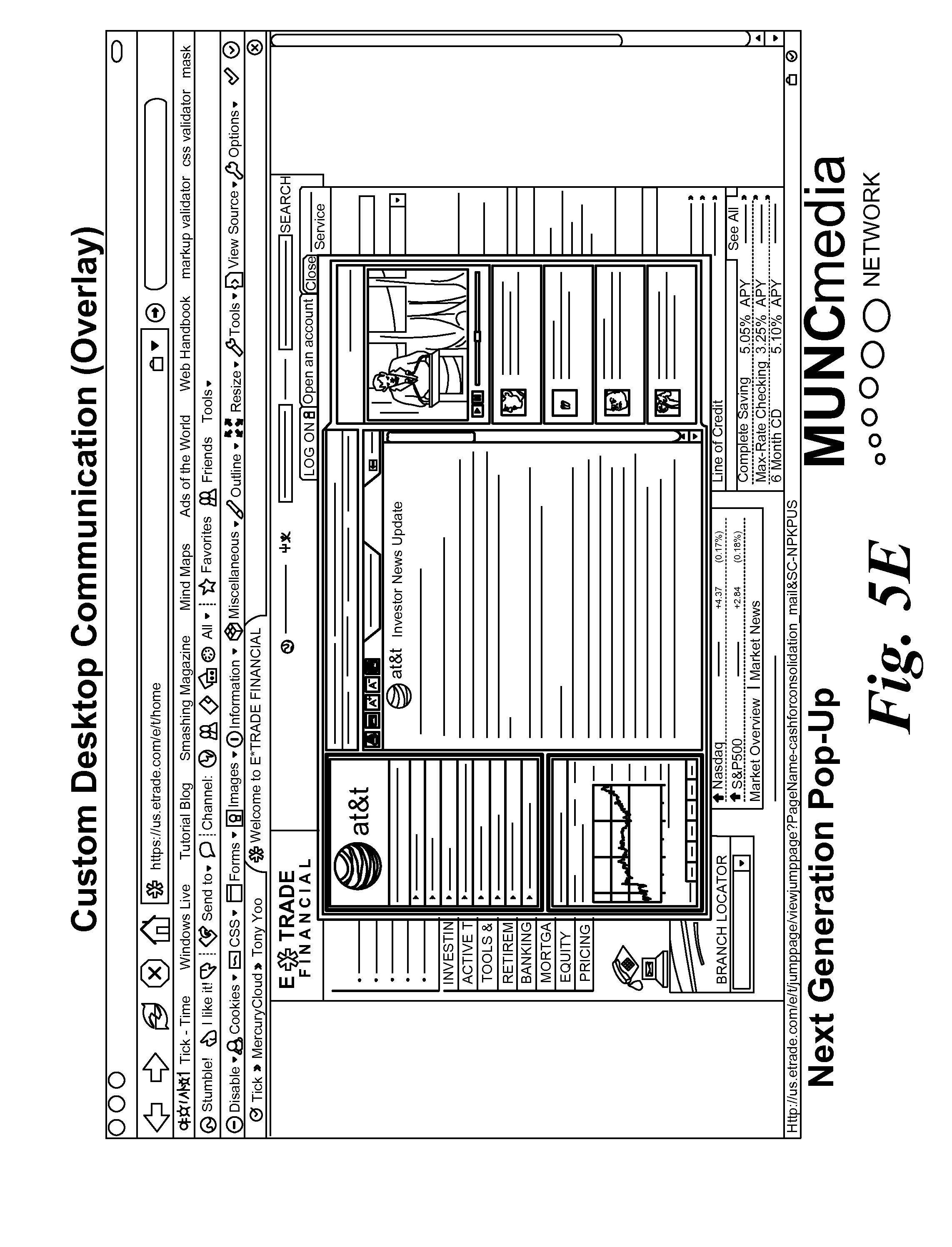 Patent US System And Method For Targeting Retail - Us map overlay popup css