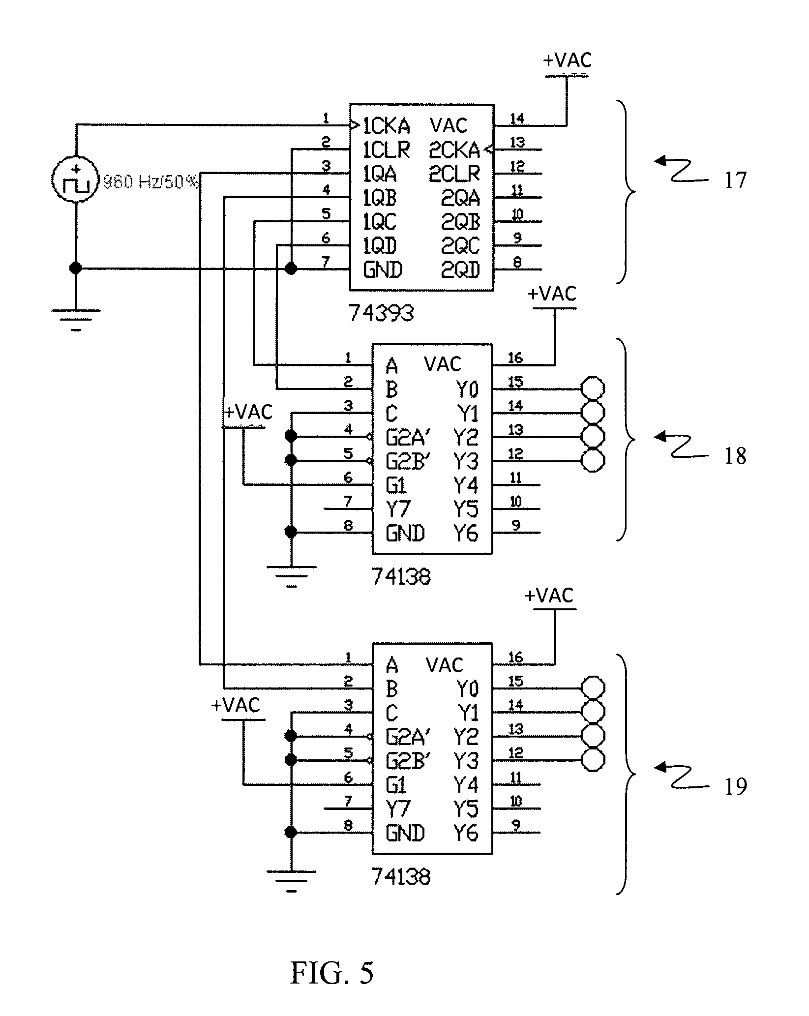 patent us20100084984 energy saving led based lighting device on 4 x 16 decoder schematic