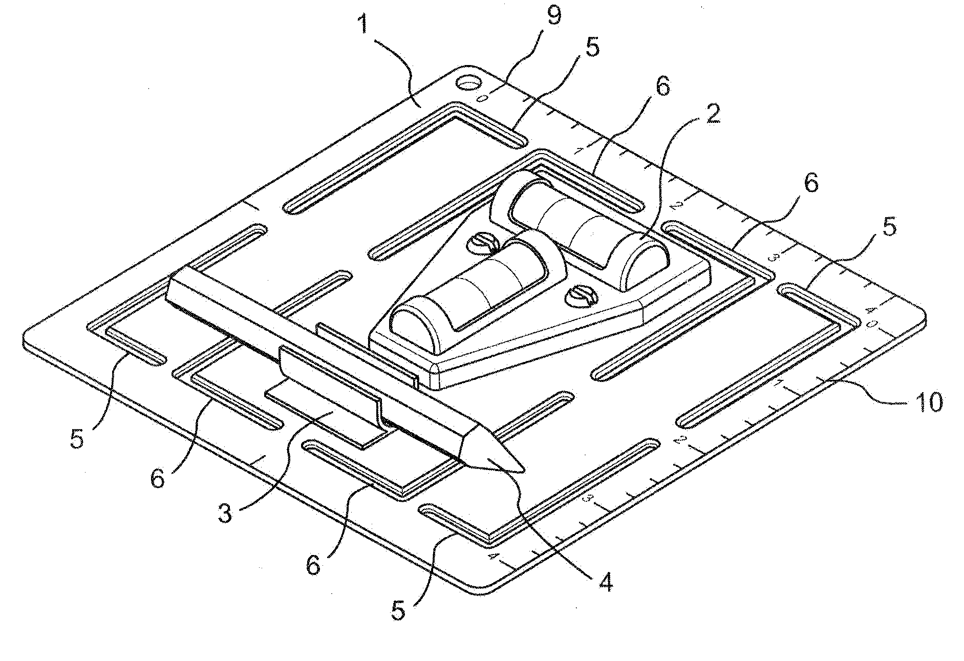 patent us20100095543 - tool for installing an electrical outlet box