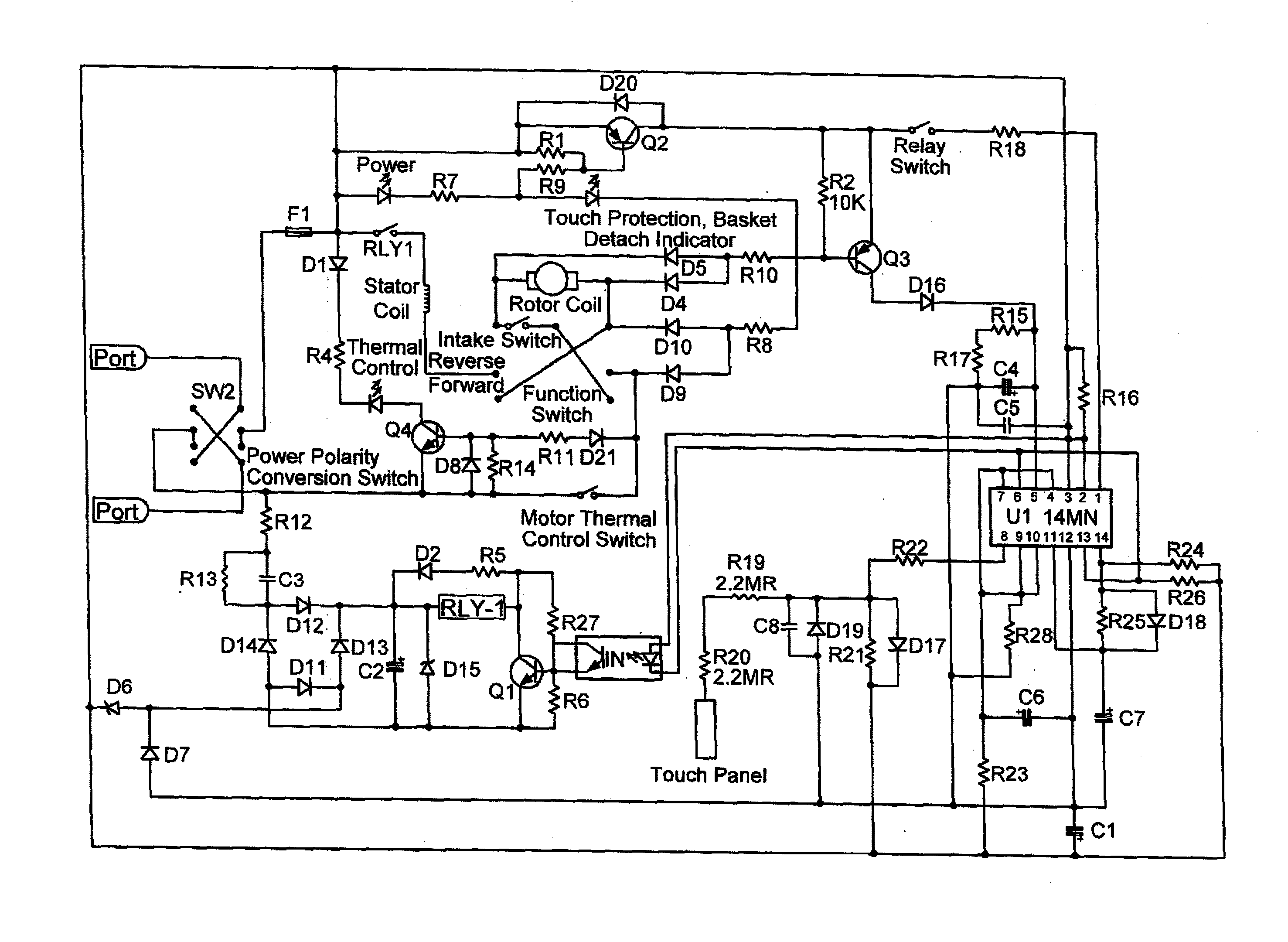 paper shredder motor wiring diagram   35 wiring diagram