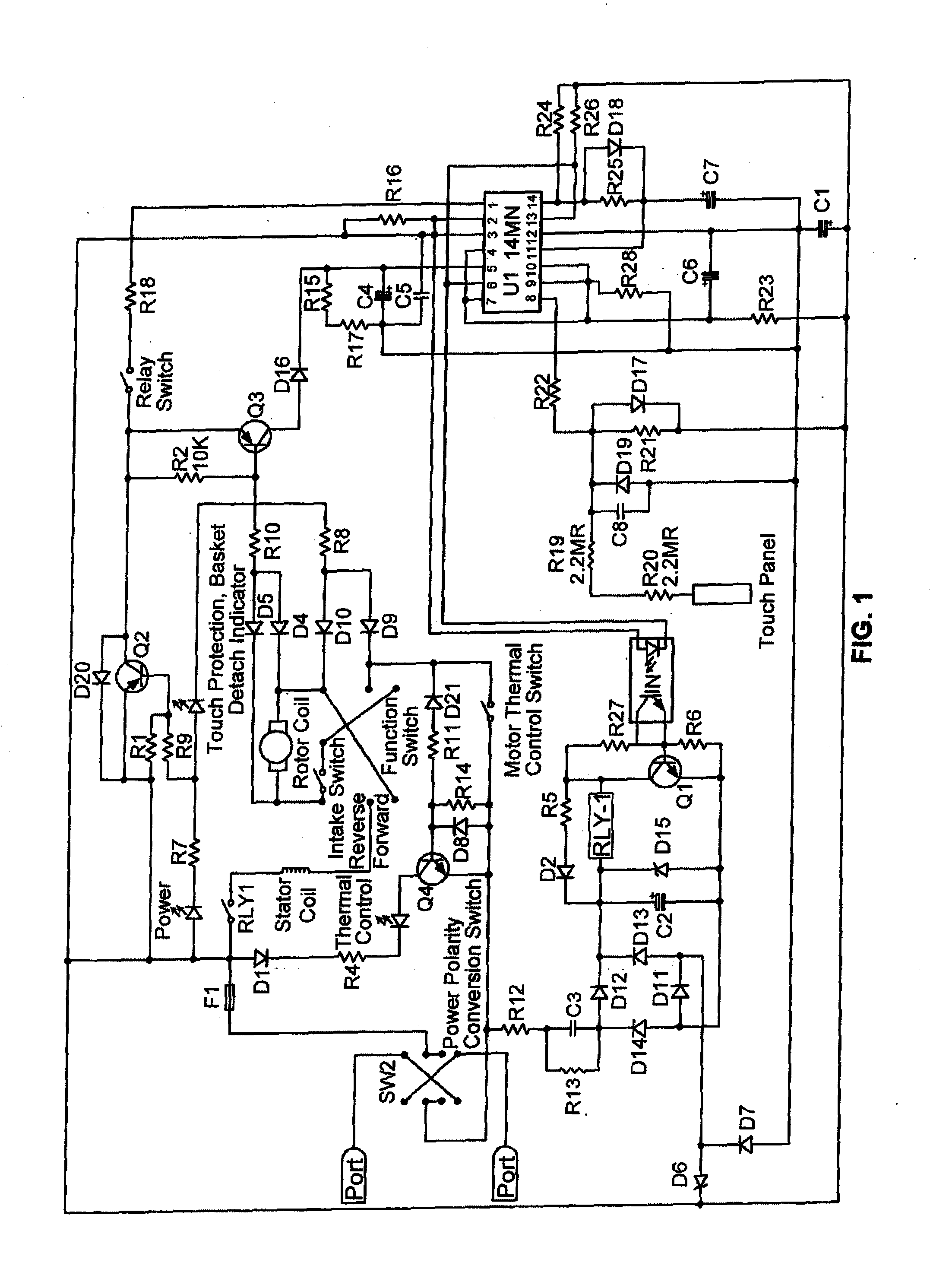 US20100116916A1 20100513 D00001 patent us20100116916 touch sensitive paper shredder control paper shredder motor wiring diagram at crackthecode.co