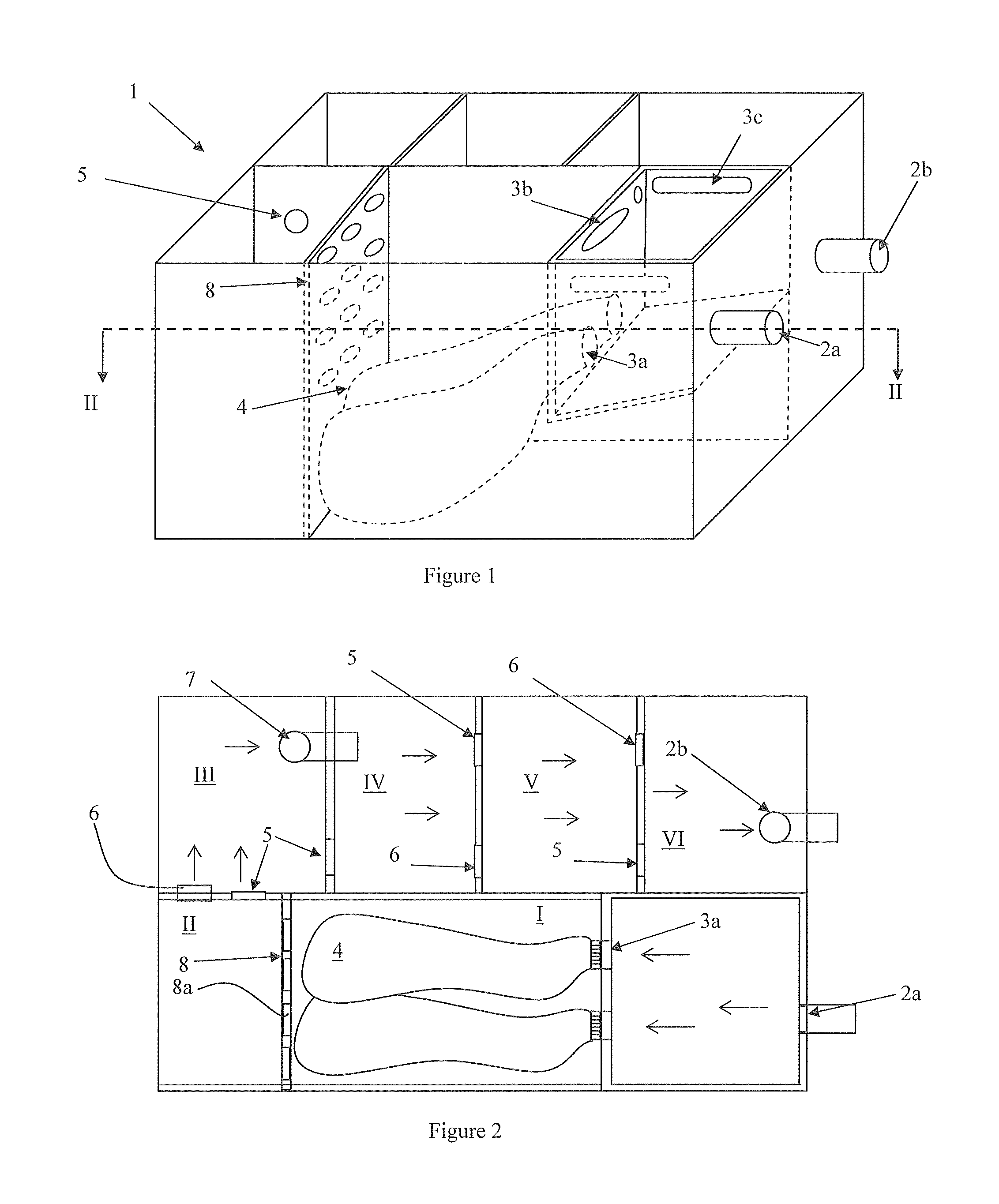 Patent Us20100122954 Grease Trap With Detachable Residue Diagram 2 Under The Sink Drawing