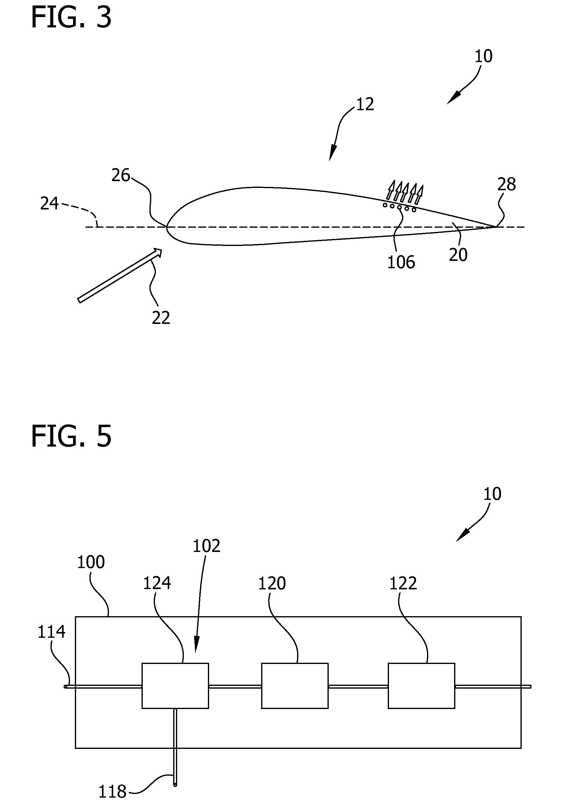 Patent US Active flow control system for wind turbine