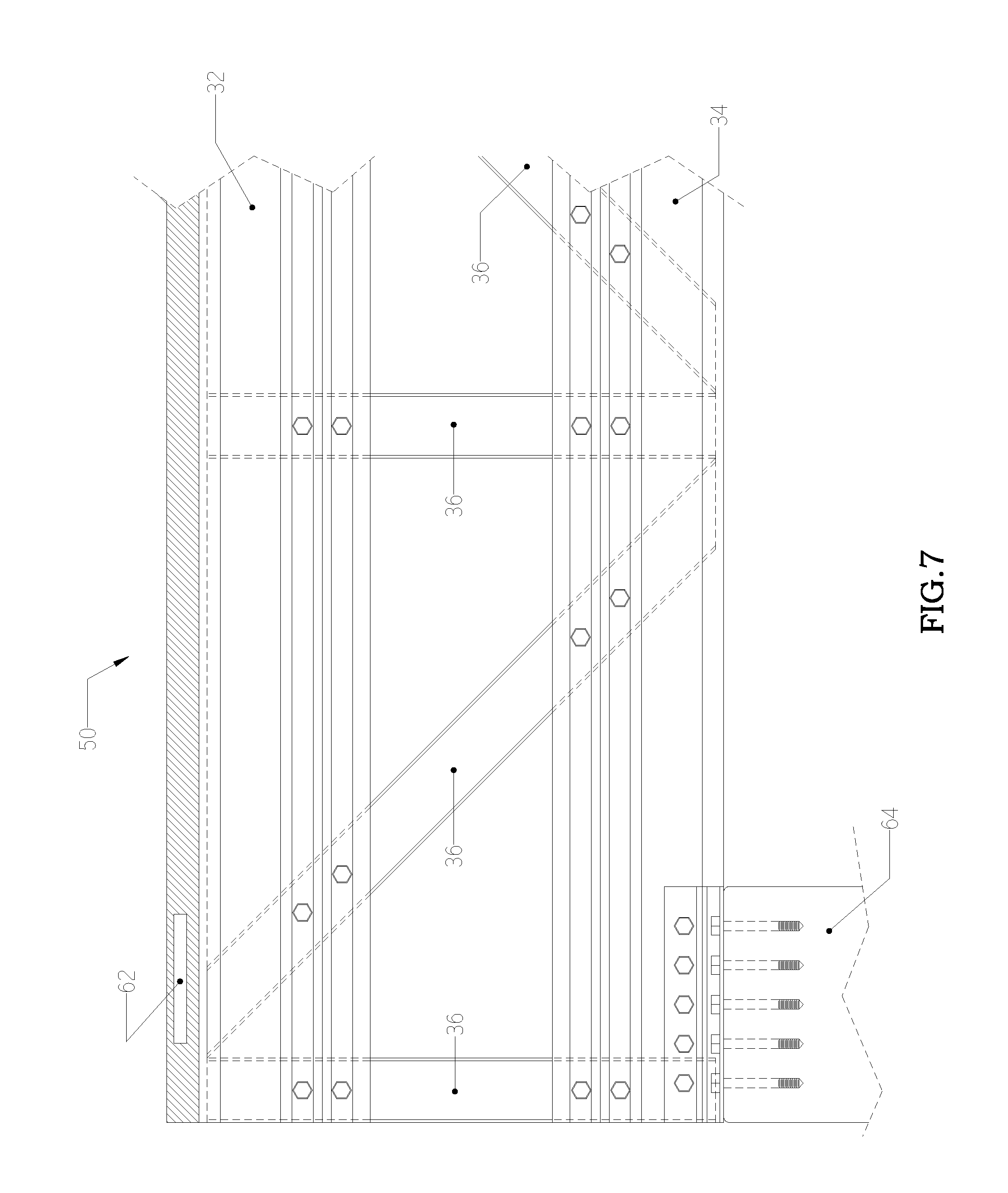 Brevet us20100180531 truss chord and truss system with ribs and patent drawing hexwebz Choice Image