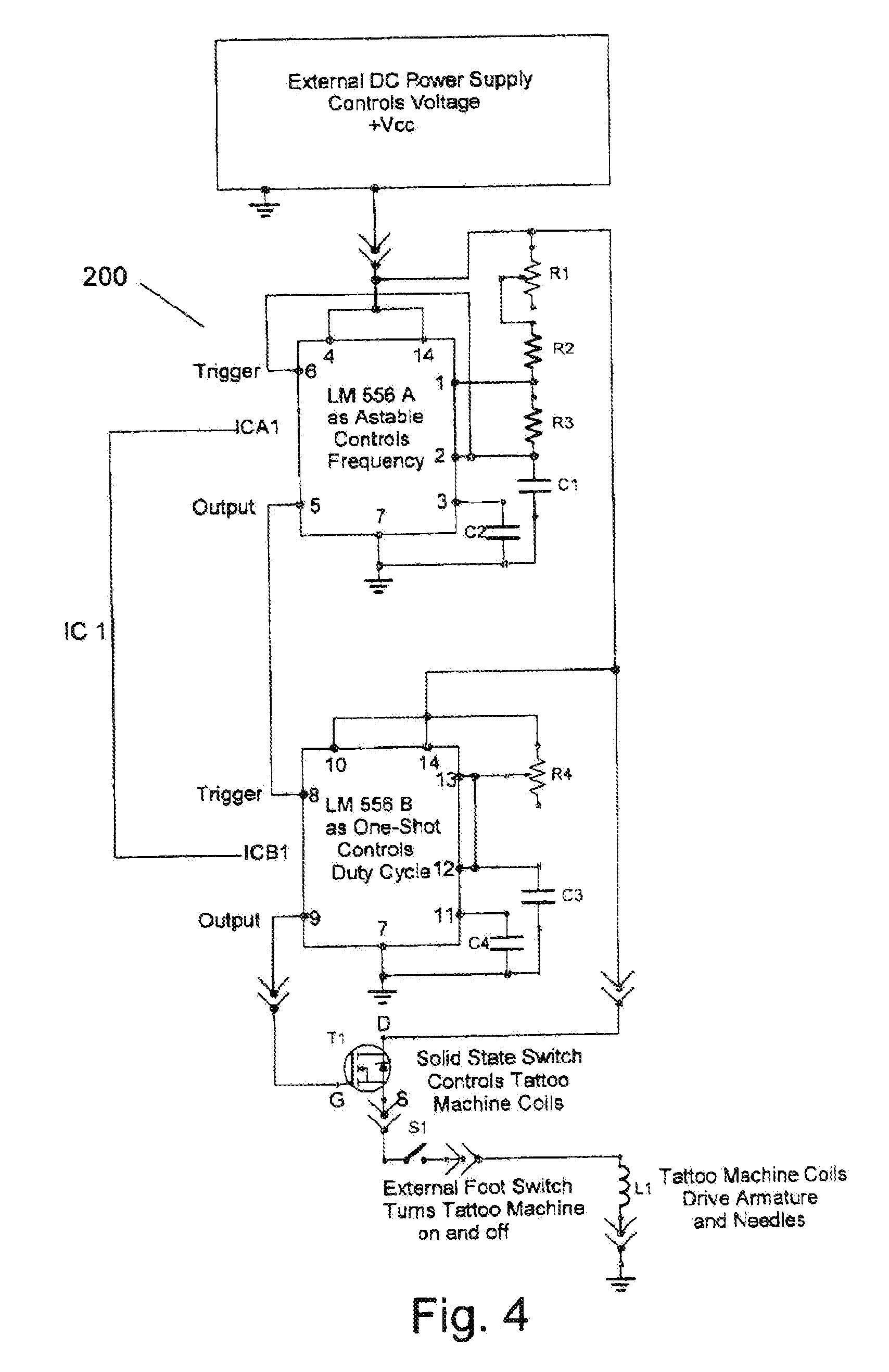 US20100192730A1 20100805 D00009 patent us20100192730 control device for a tattoo machine, and tattoo machine wiring diagram at webbmarketing.co