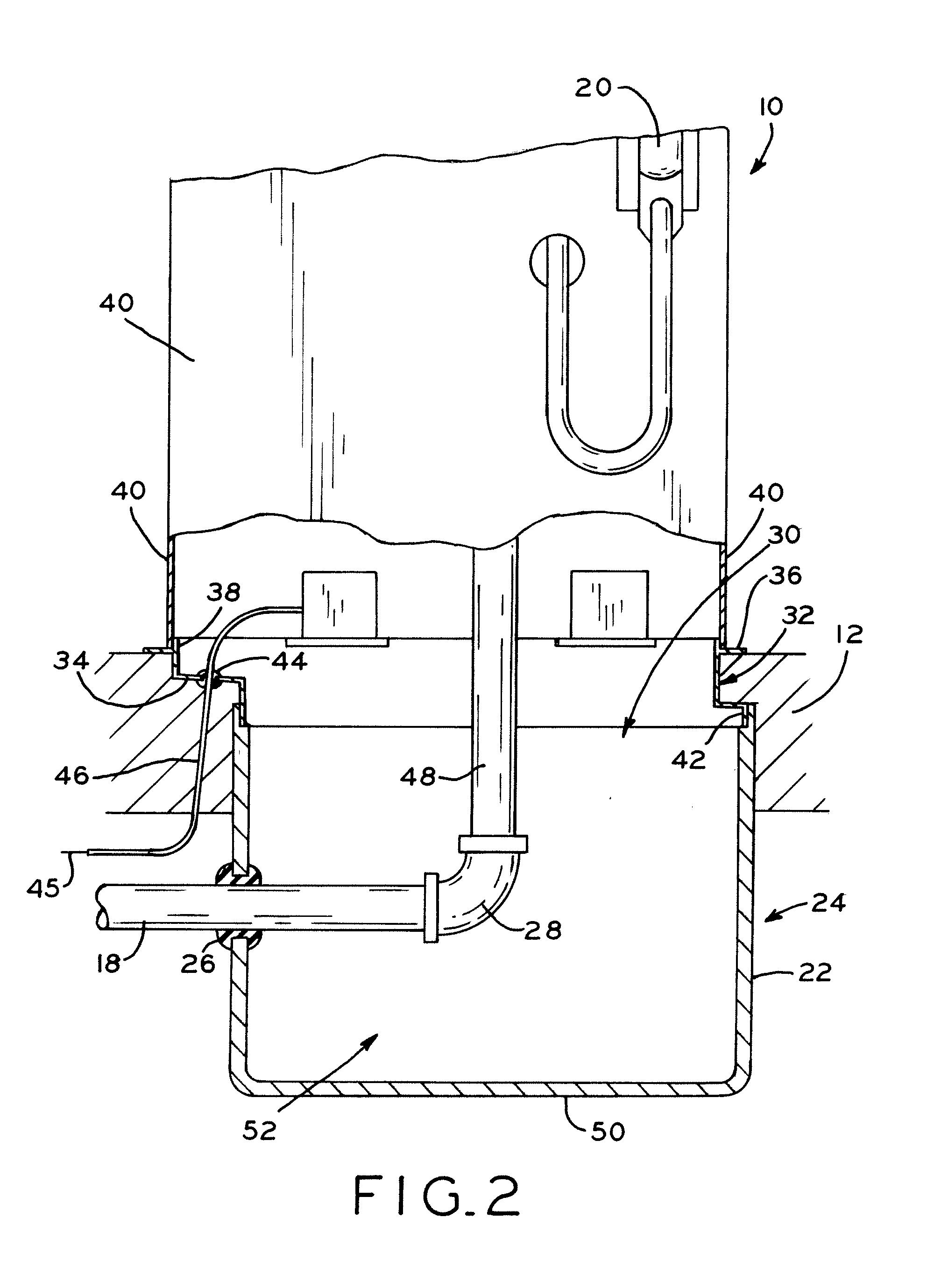 patent us20100206393 - fuel dispenser sump