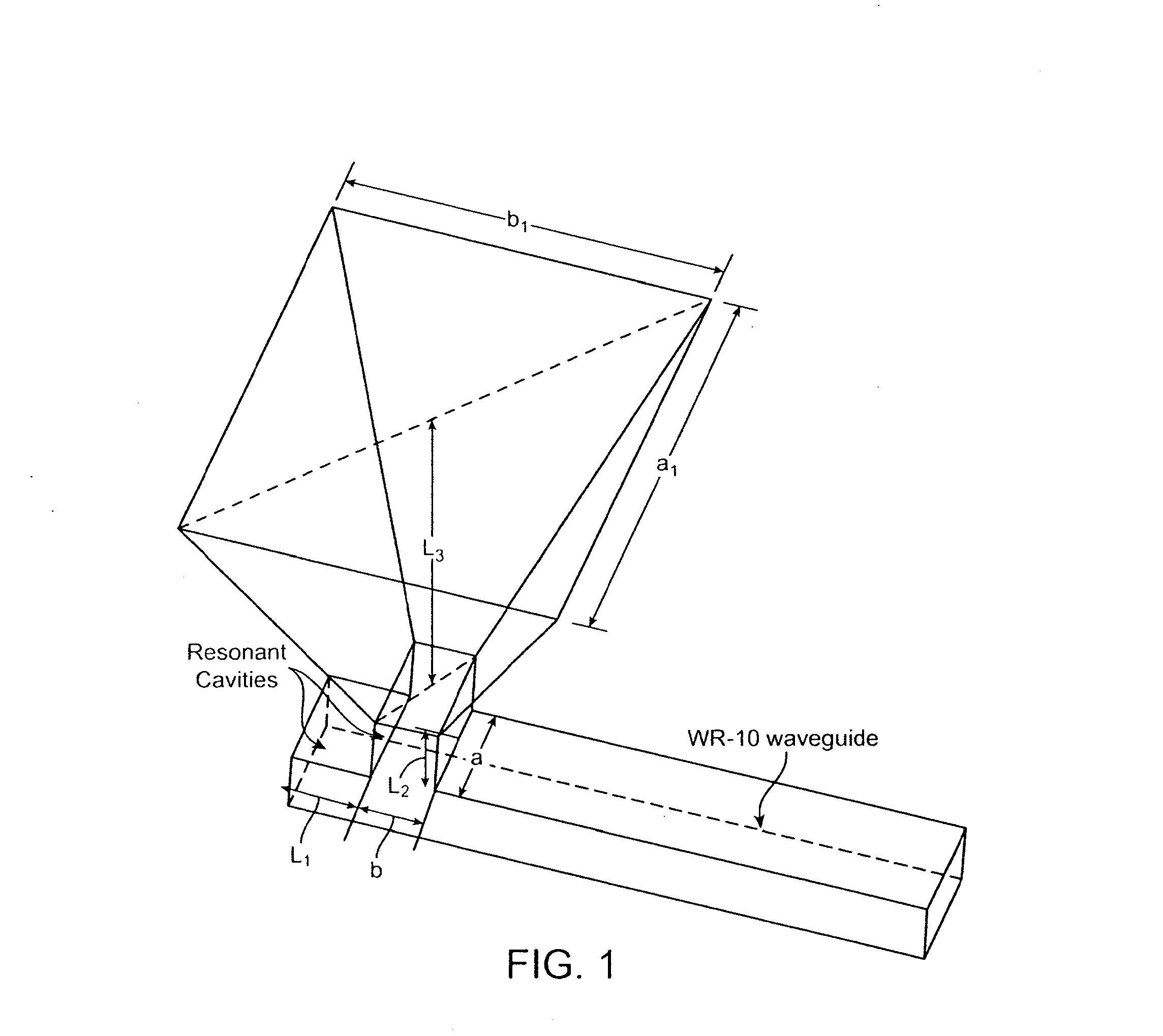 patent us20100214185 - plastic waveguide-fed horn antenna