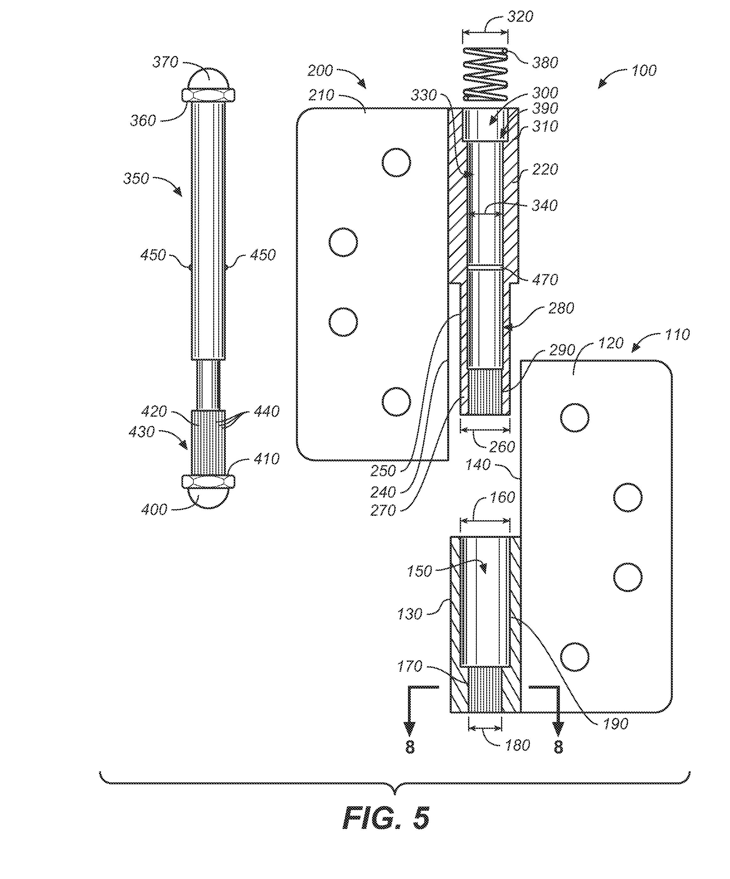 patent us20100218344   locking hinge assembly   google patents