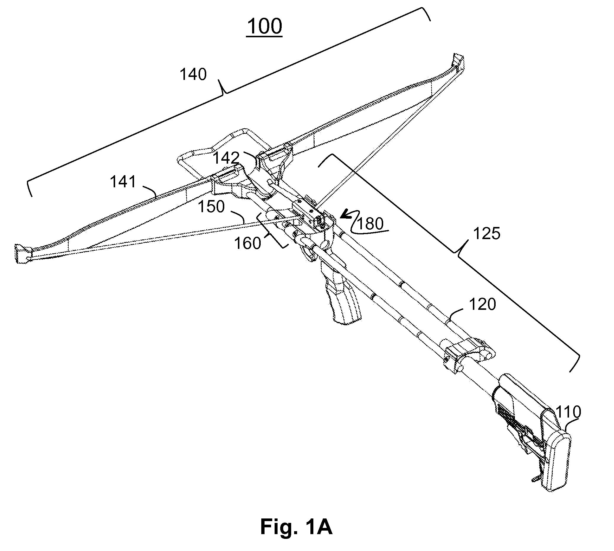 patent us20100224176 - modular crossbow
