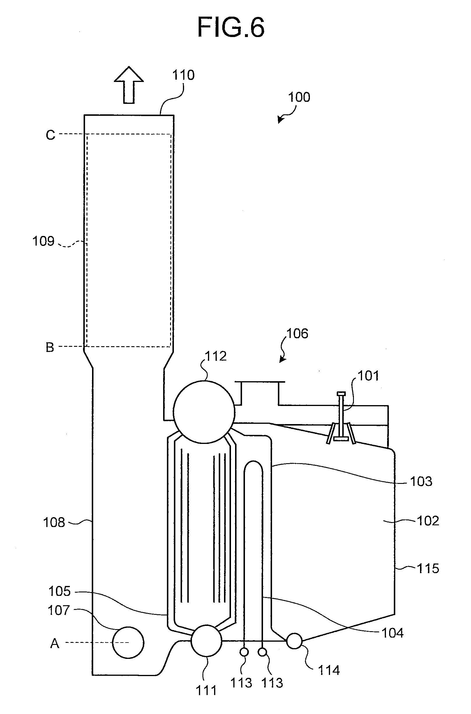 Patent US Reheat boiler and gas temperature