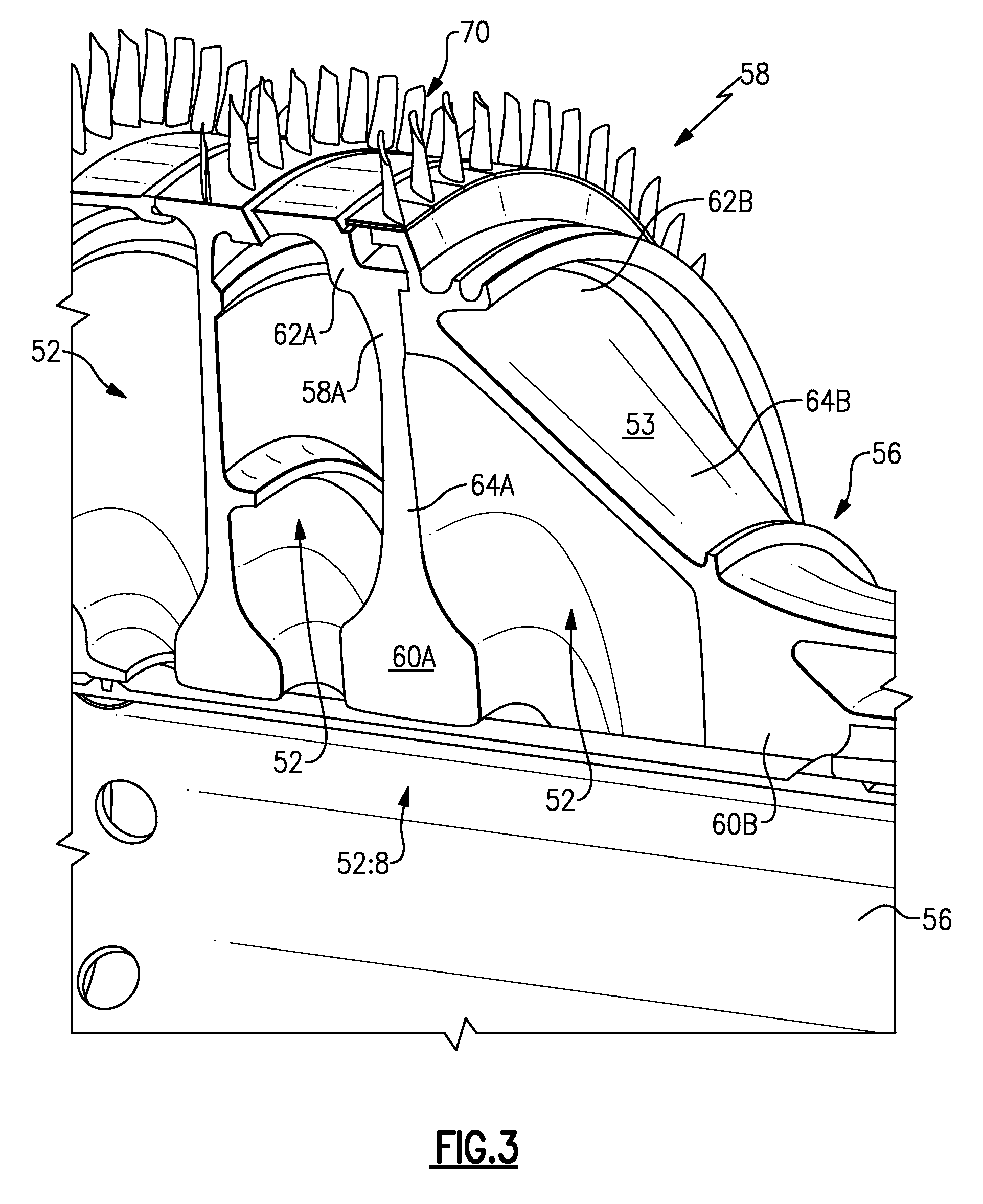 Patent US Split disk assembly for a gas turbine