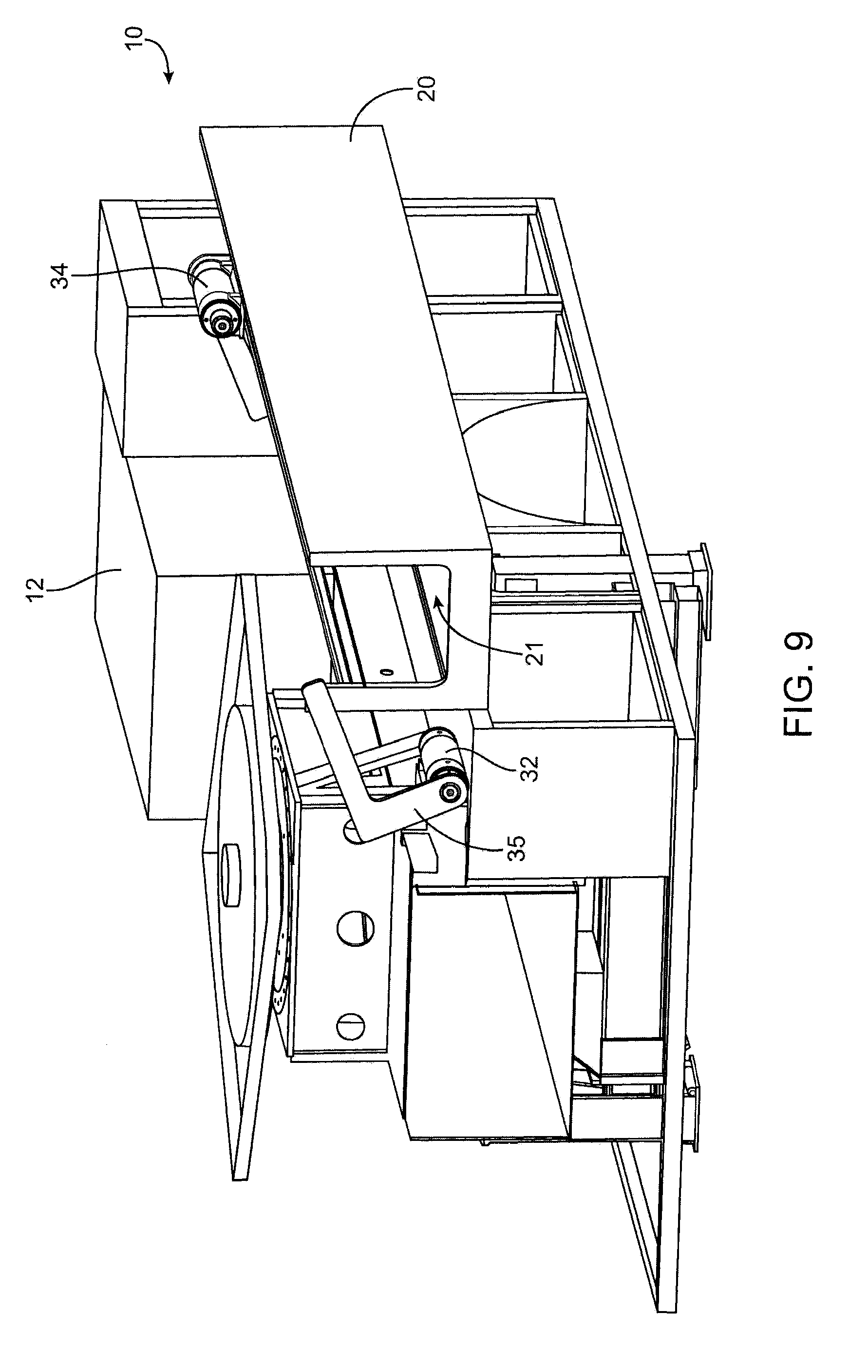 Patent Us20100252597 Moveable Side Mounted Fire Truck Hose Bed Engine Backing Diagram Drawing