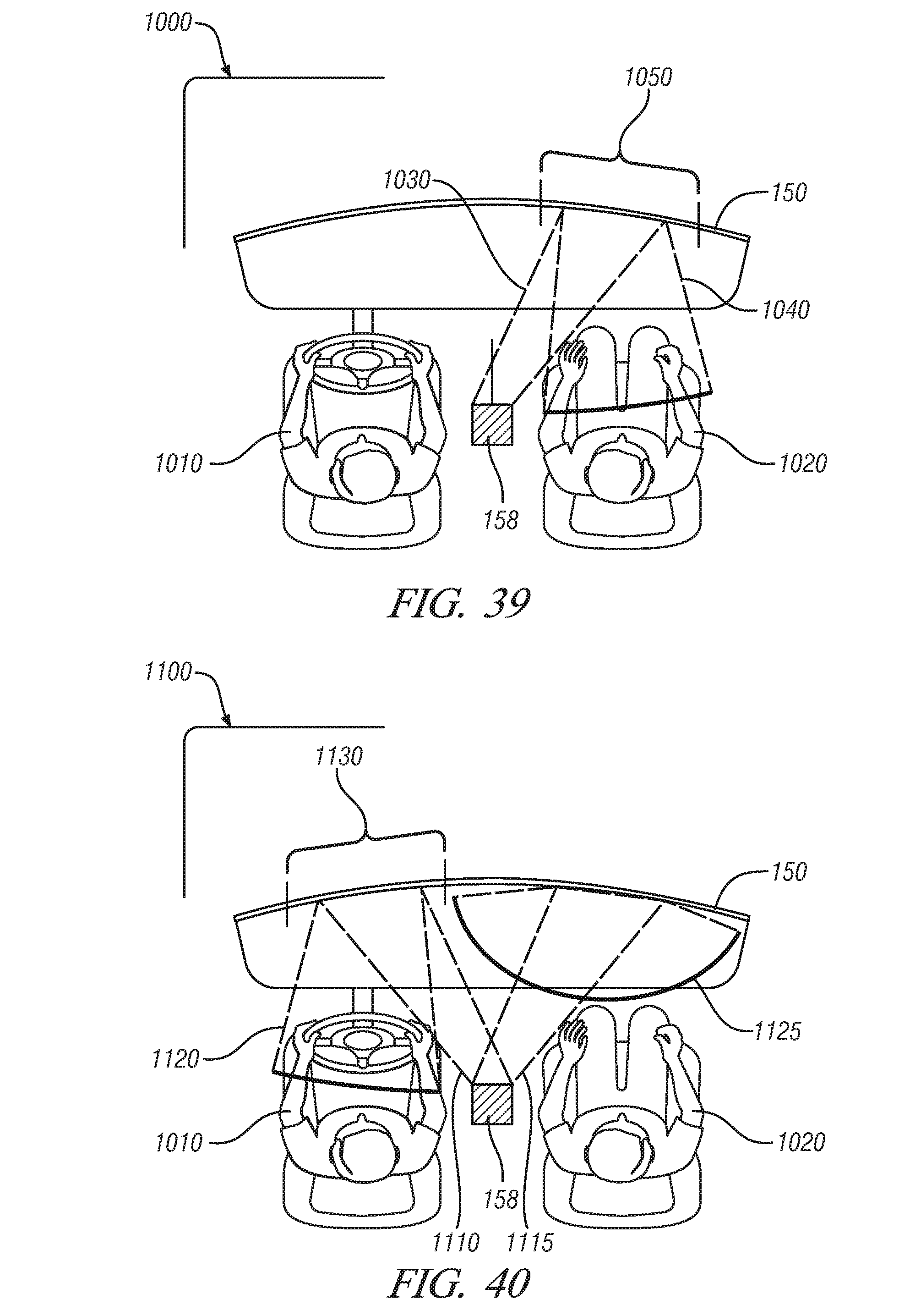 patent us20100253601 full windshield hud enhancement pixelated