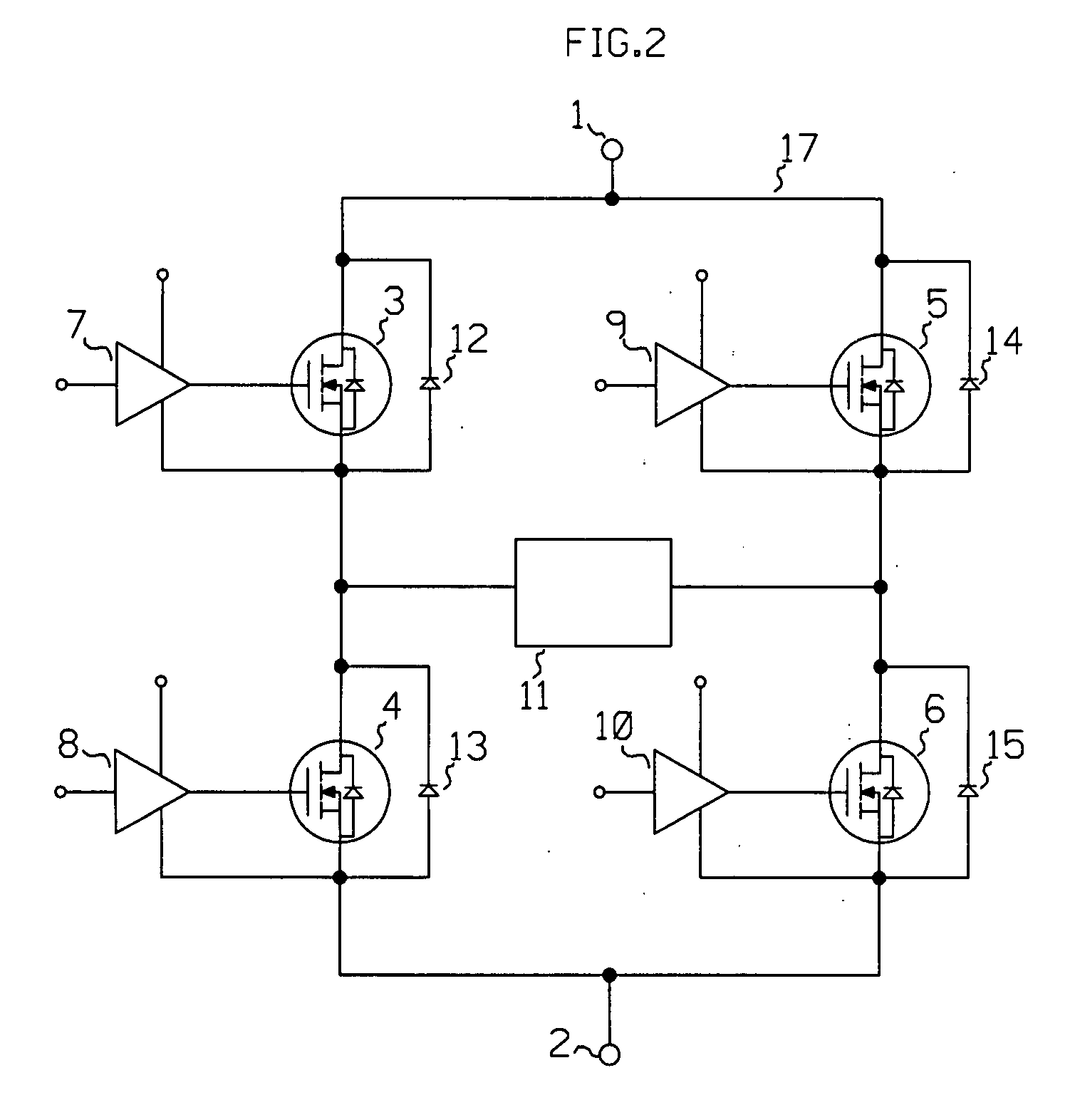 patent us20100254221 - h-bridge pulse generator