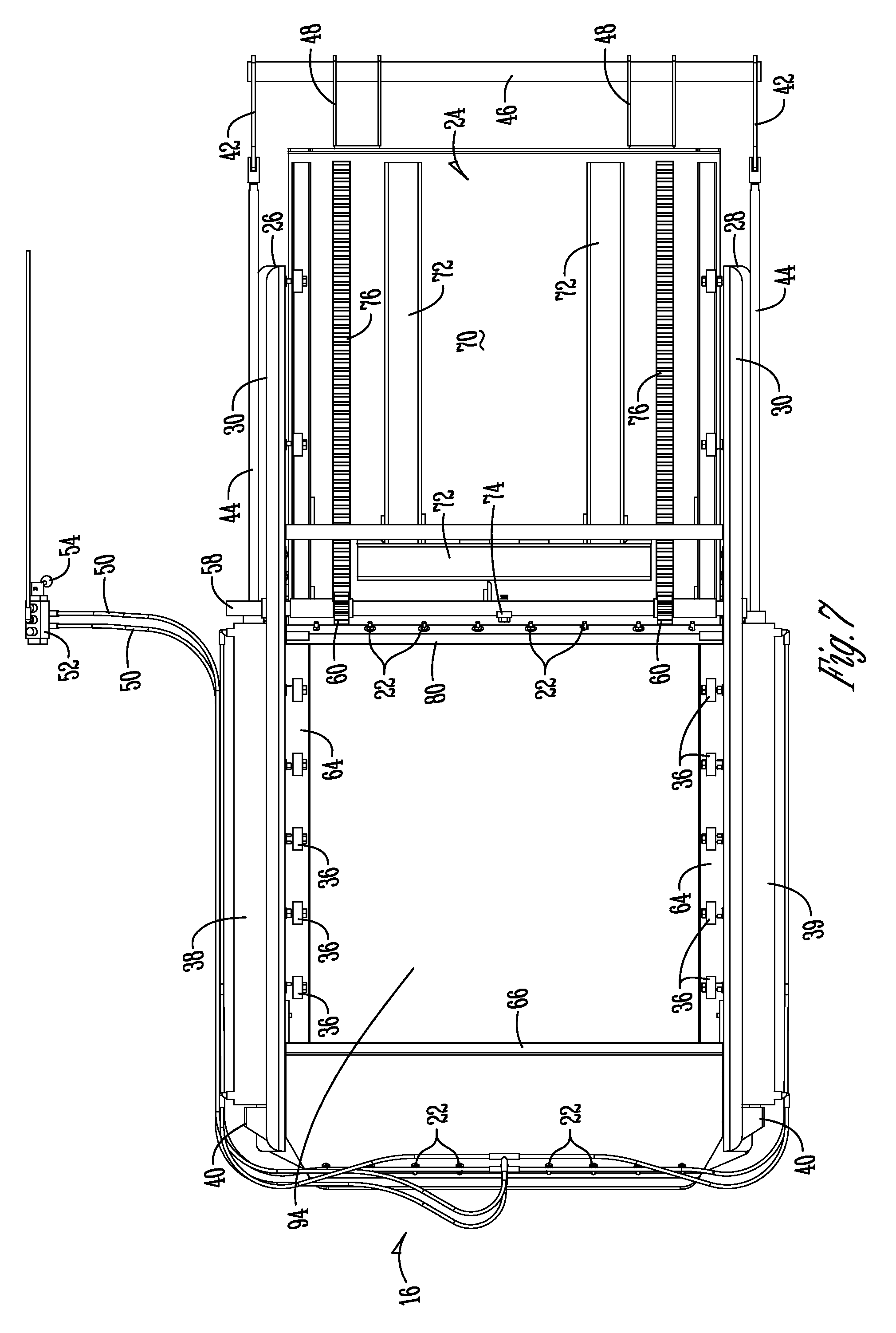 US20100270848A1 20101028 D00007 patent us20100270848 apparatus for opening hopper door google hooper trailer wiring diagram at bakdesigns.co