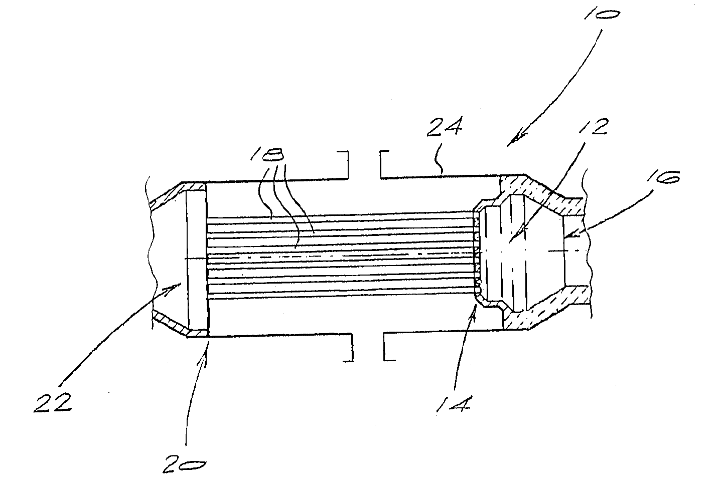 Patent us  tube sheet assembly google patents