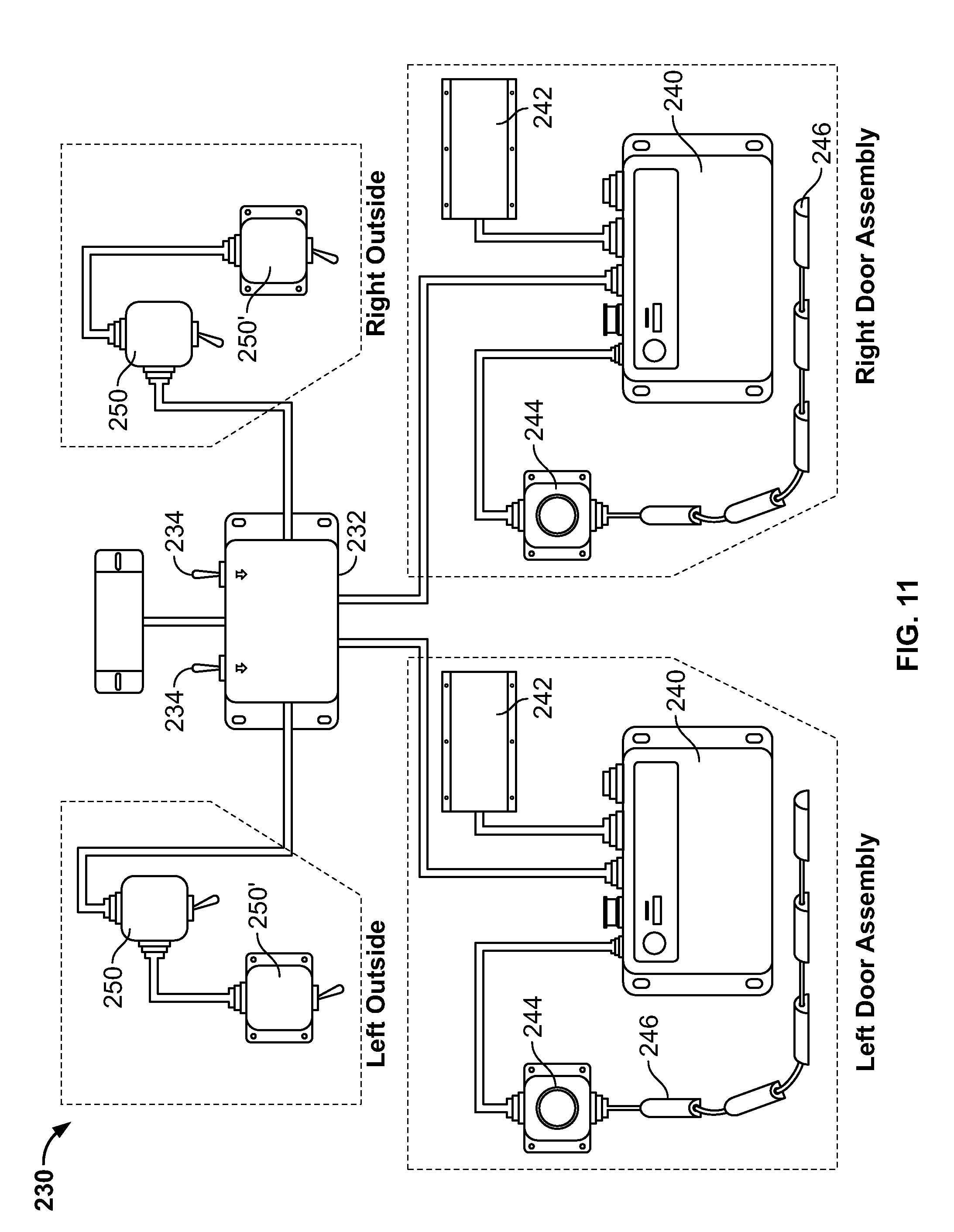 patent us20100313477 door assist system and method for retrofit patent drawing