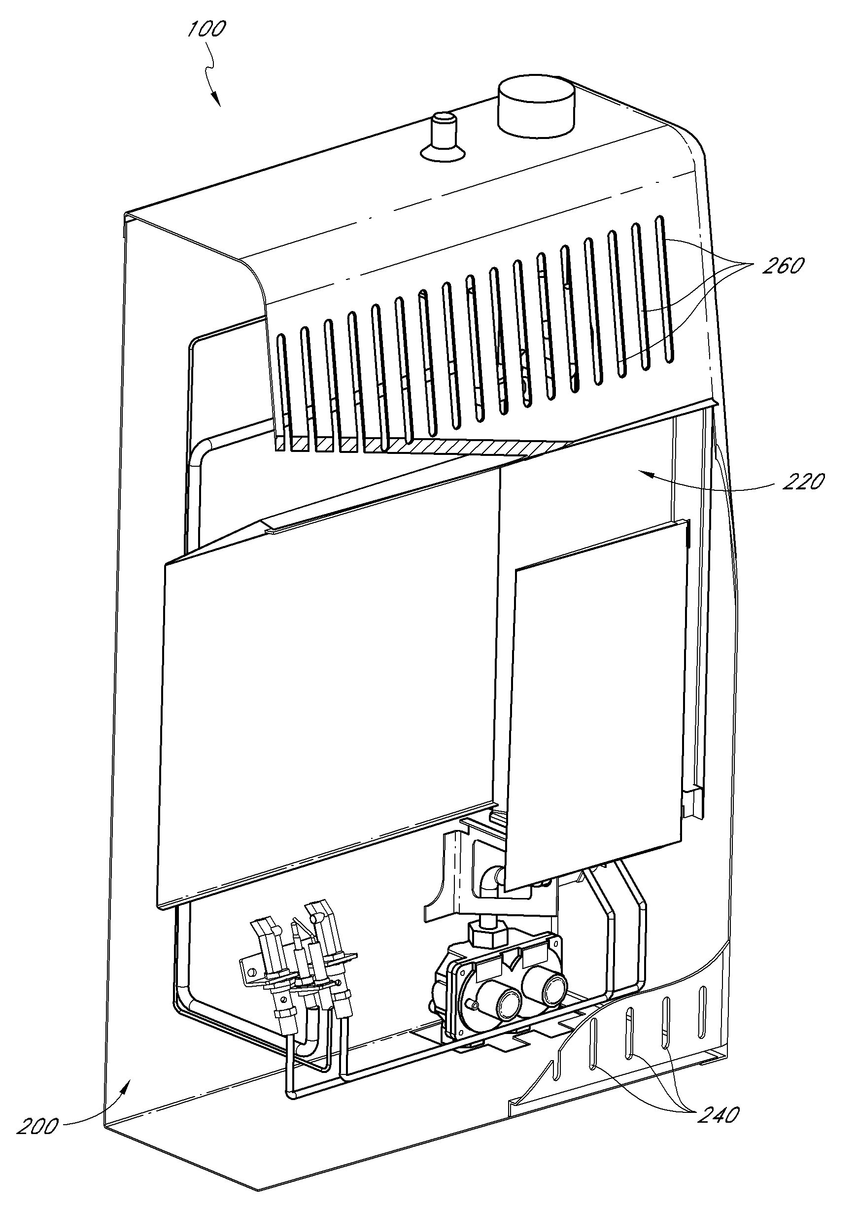 Patent Us20100326430 Dual Fuel Heating System And Air