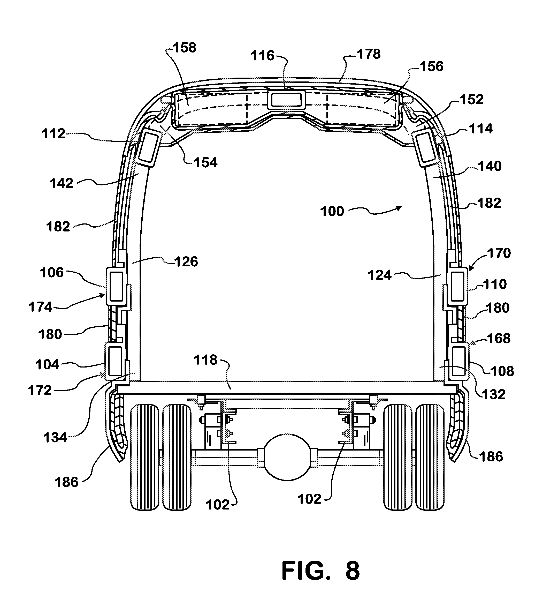 Patent Us20110012332 School Bus Rollover Protection Structure Google Patentsuche