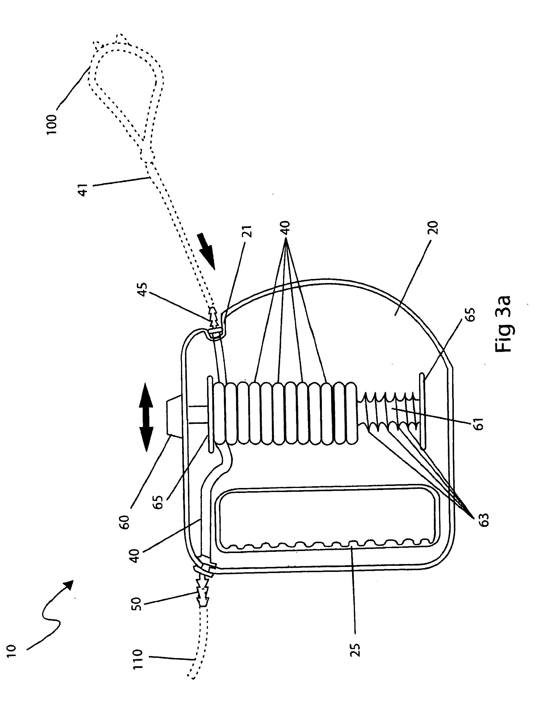 Patent us  retractable medical oxygen tubing