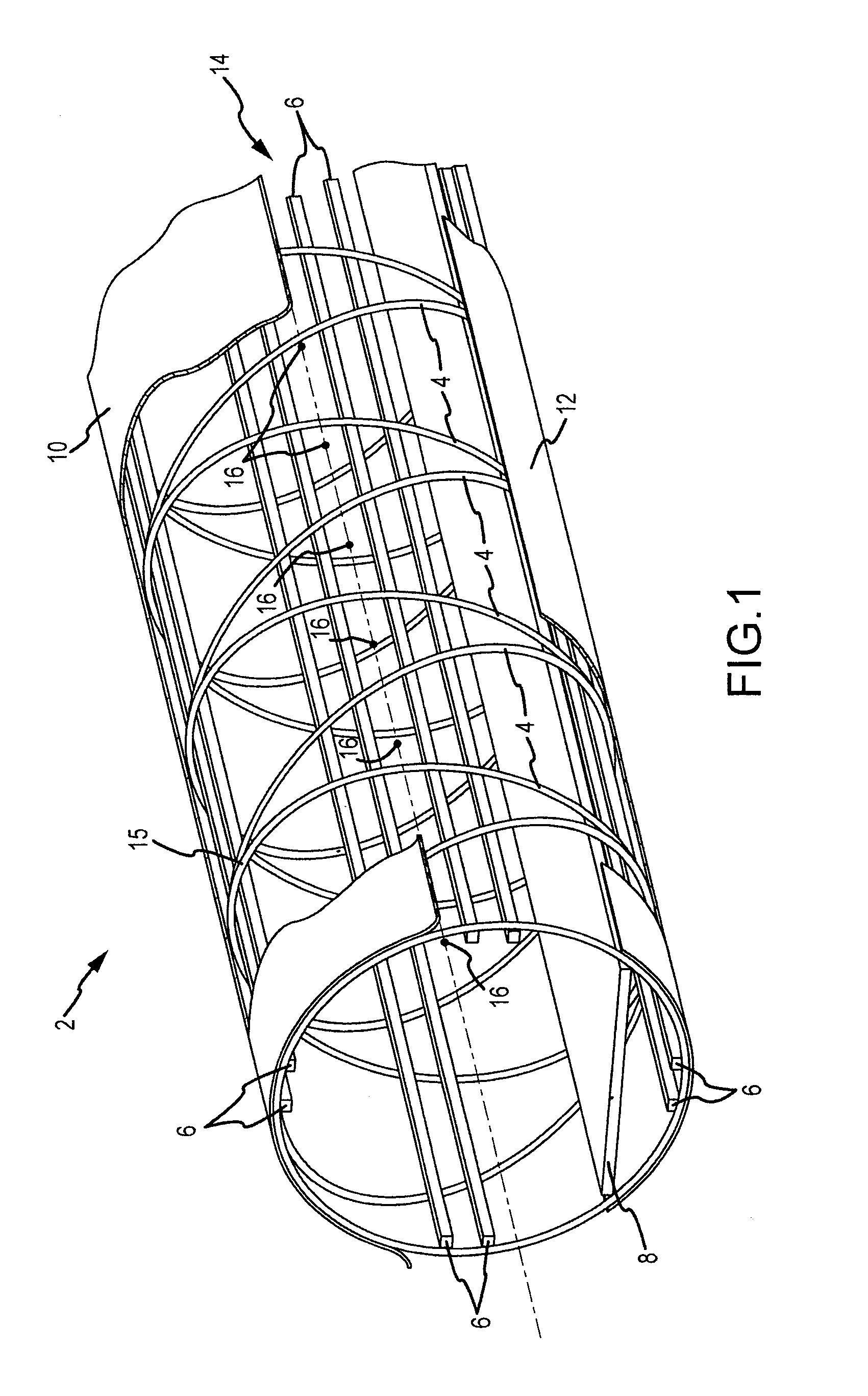 patent us20110047722 - hoop truss bridge
