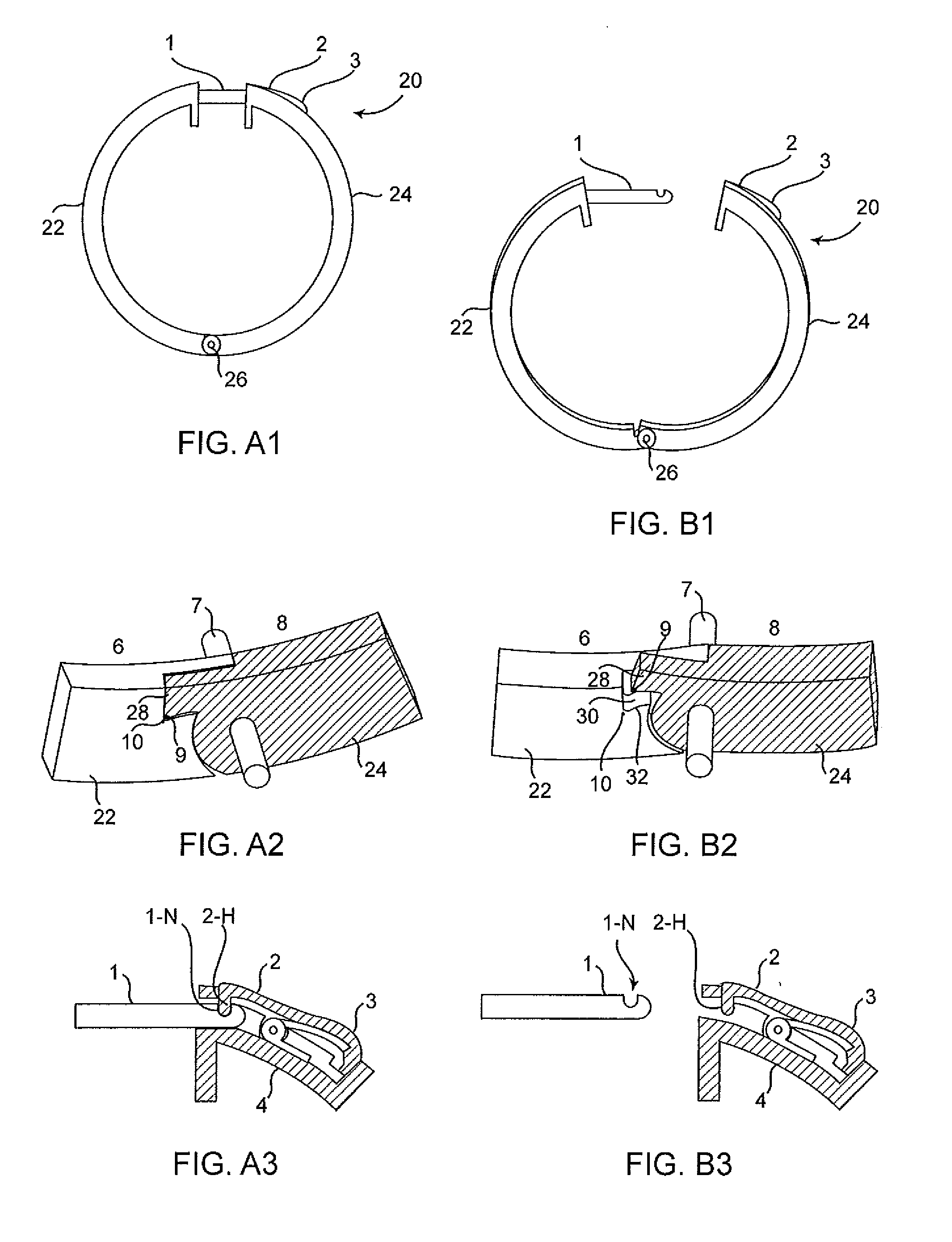 Patent Us20110056241 Spring Lock Mechanism For Hinged