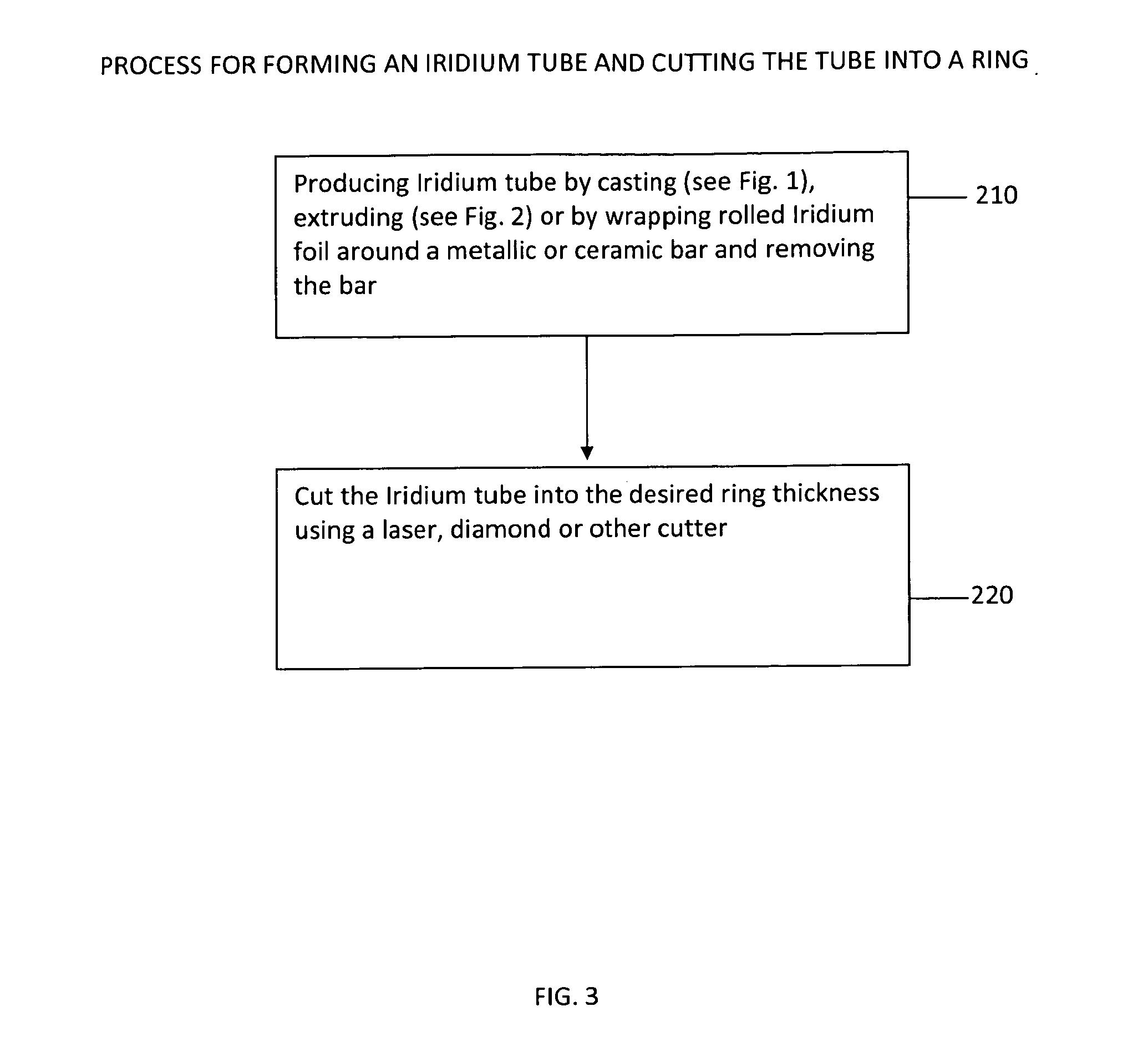 Iridium Wedding Band 25 Great Patent Drawing