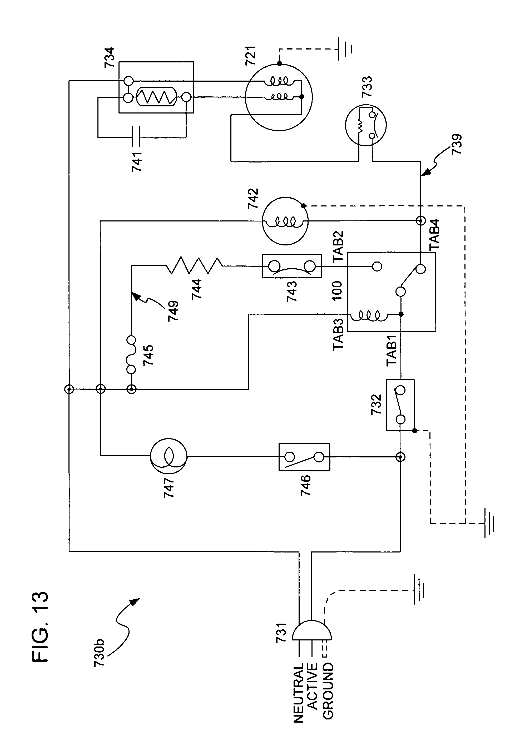 US20110067423A1 20110324 D00013 patent us20110067423 defrost timer for refrigerator and true freezer t 49f wiring diagram at eliteediting.co