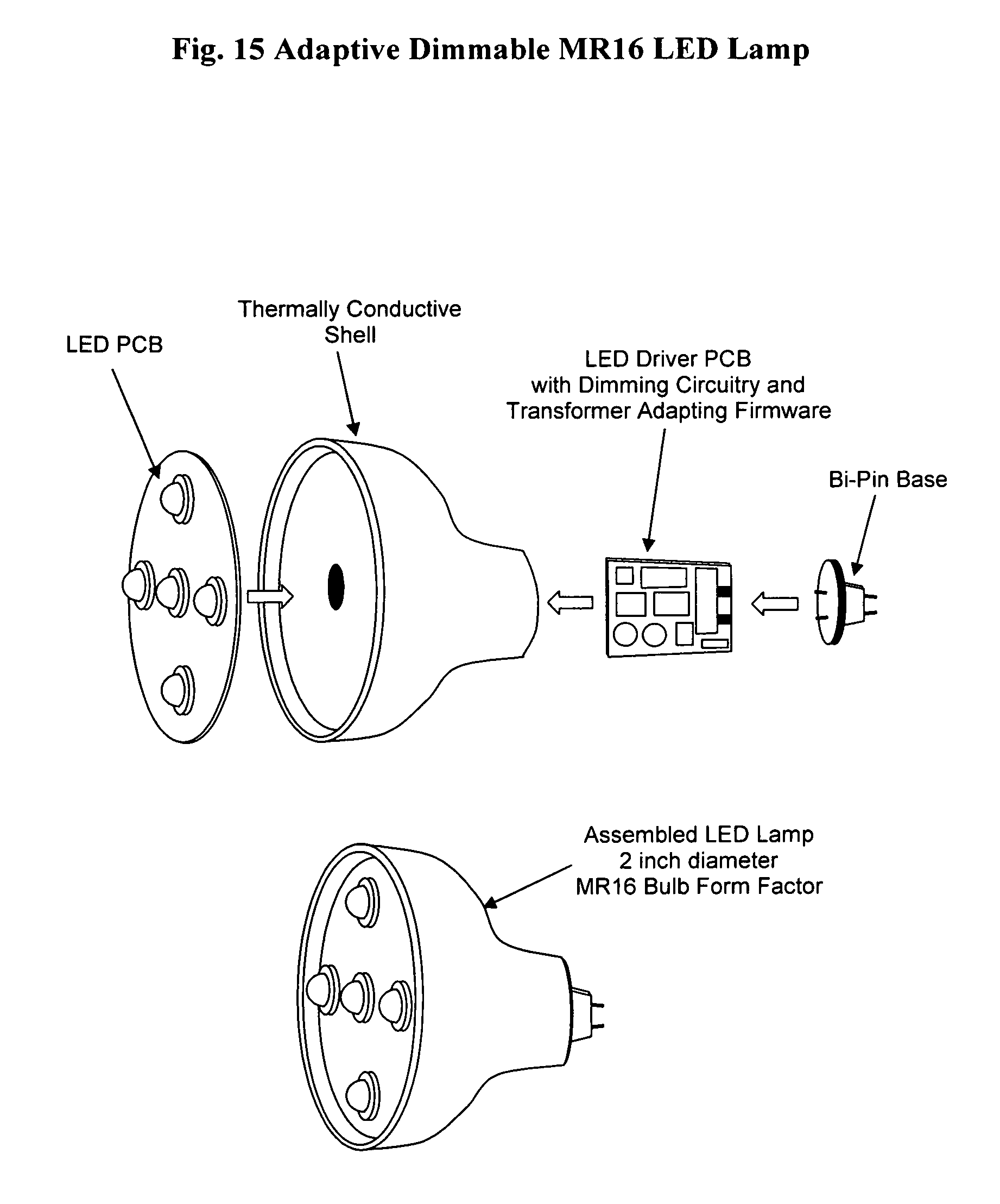 Patent Us20110068704 Adaptive Dimmable Led Lamp Google Patents Circuit Drawing