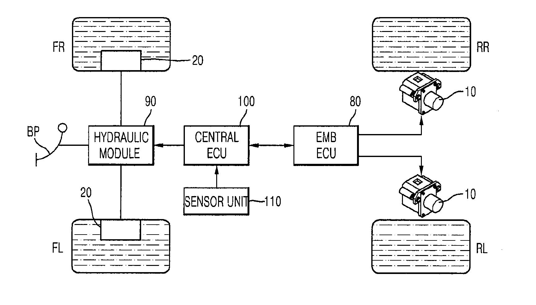 Brevet Us20110074204 Regenerative Braking System Google Diagram Patent Drawing