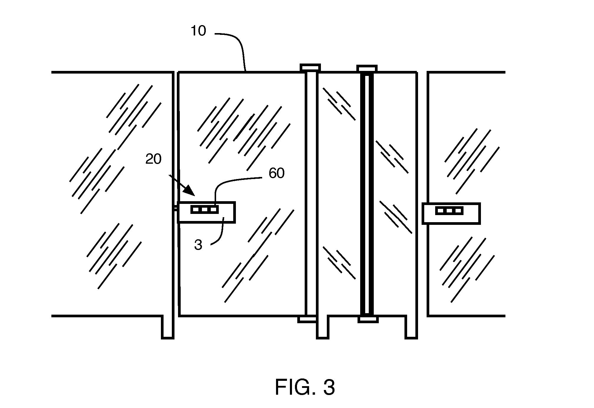 Bathroom Stall En Espaубol patent us20110080252 - automated bathroom-stall door - google patents