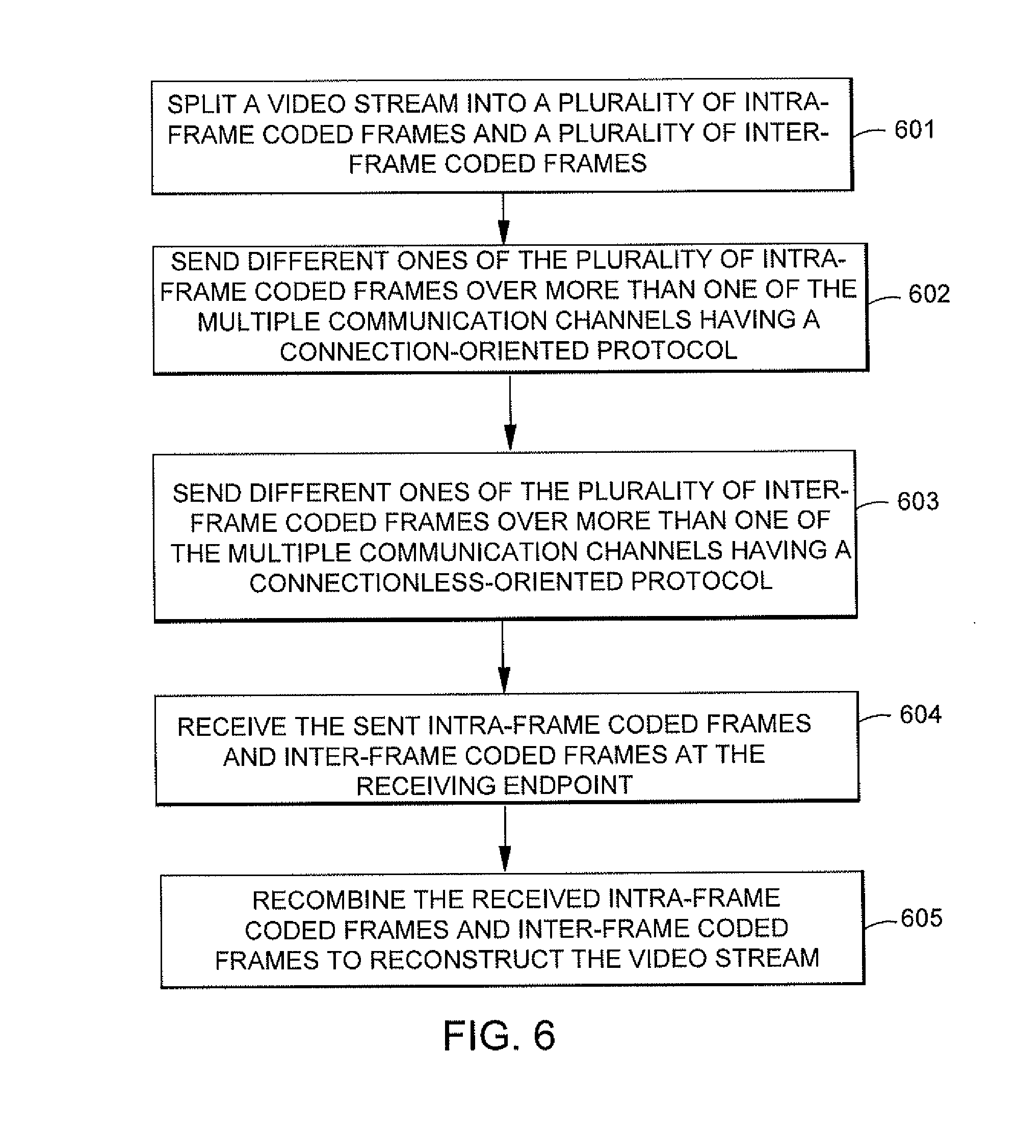 Patent US20110083156 - Network streaming of a video stream over ...