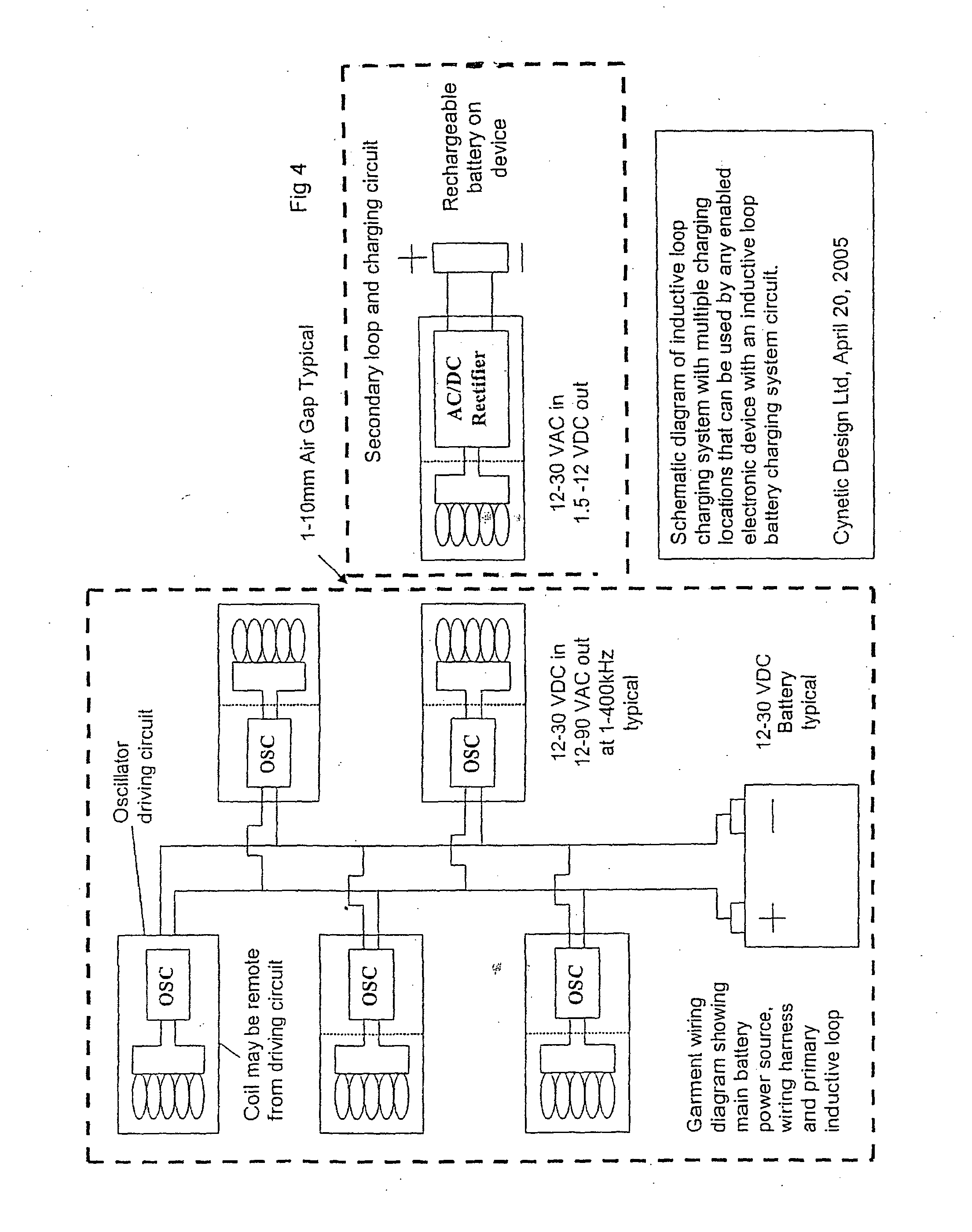 Patent Us20110089894 Contactless Battery Charging Apparel Google Wiring Loop Circuit Drawing