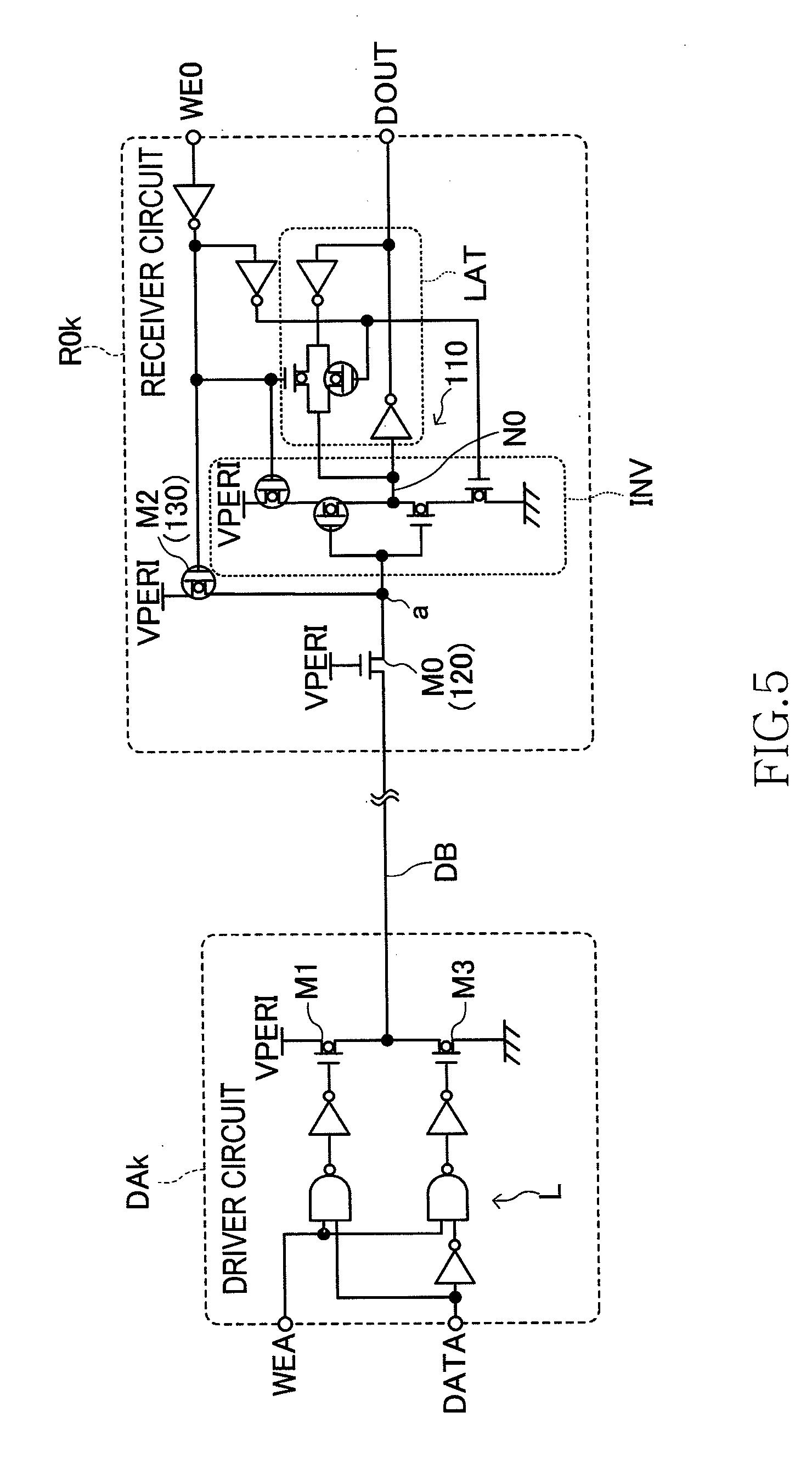 Patent Us20110095809 Semiconductor Device Having Signal Transfer Dak Wiring Diagram Drawing