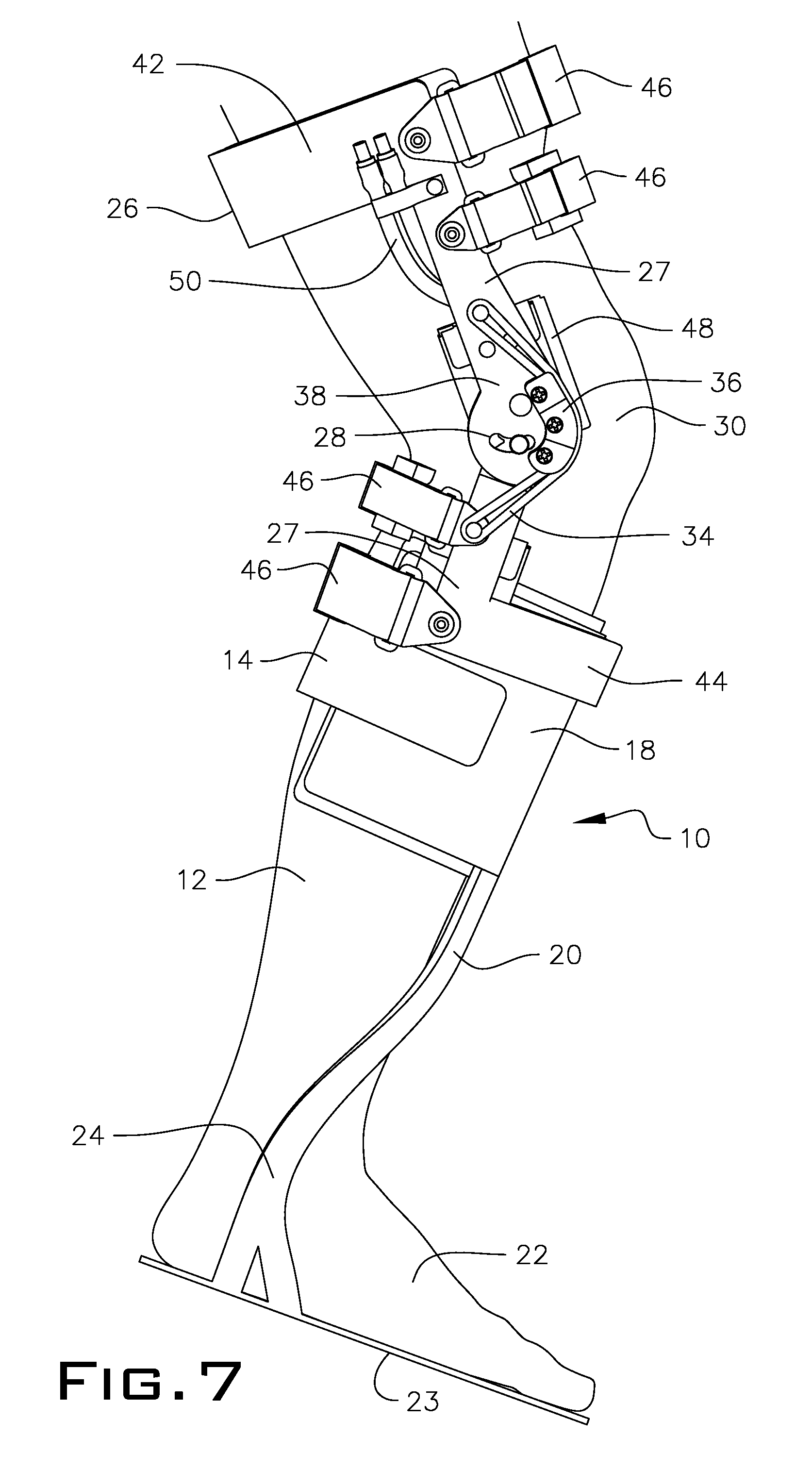 Patent US20110105969 Method and orthotic system for