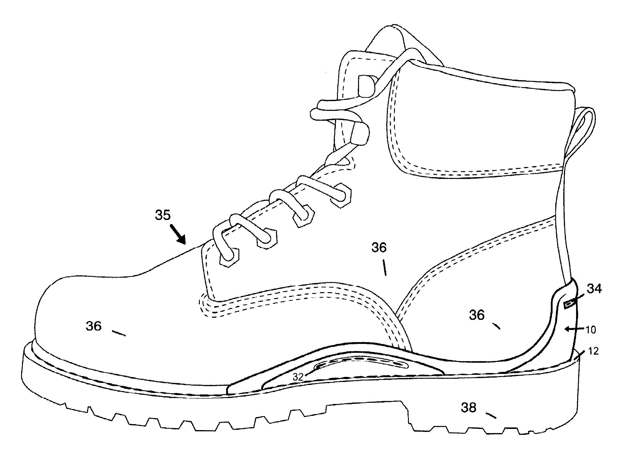 Uncategorized Draw Boots patent us20110119959 external stabilizing structure for work drawing