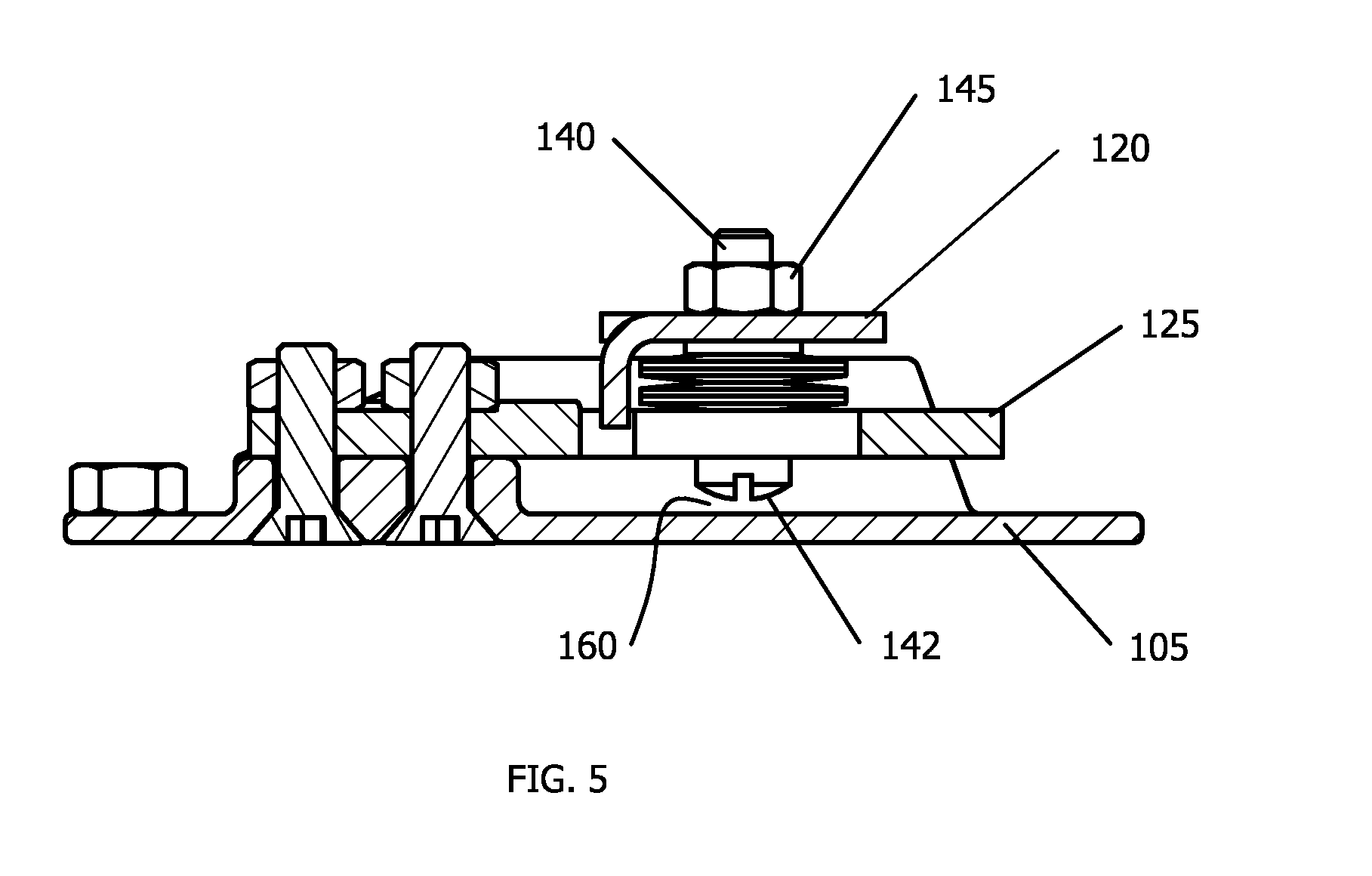 patent us20110127091 - planar beam load cell assembly