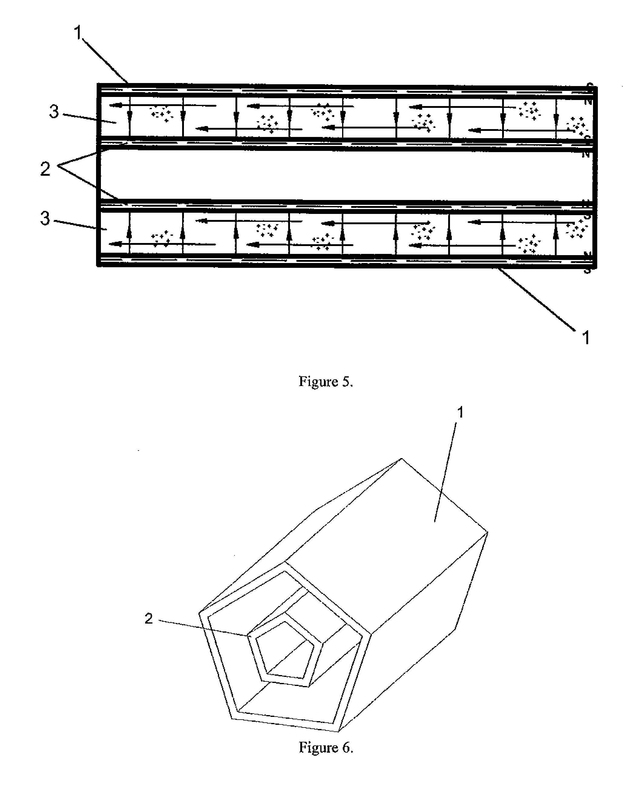 Patent US Desalination device using selective