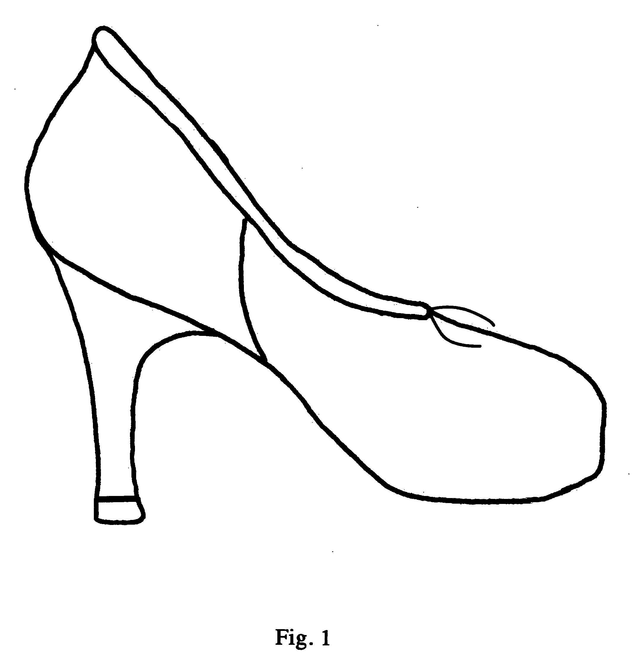 how to draw shoes from behind
