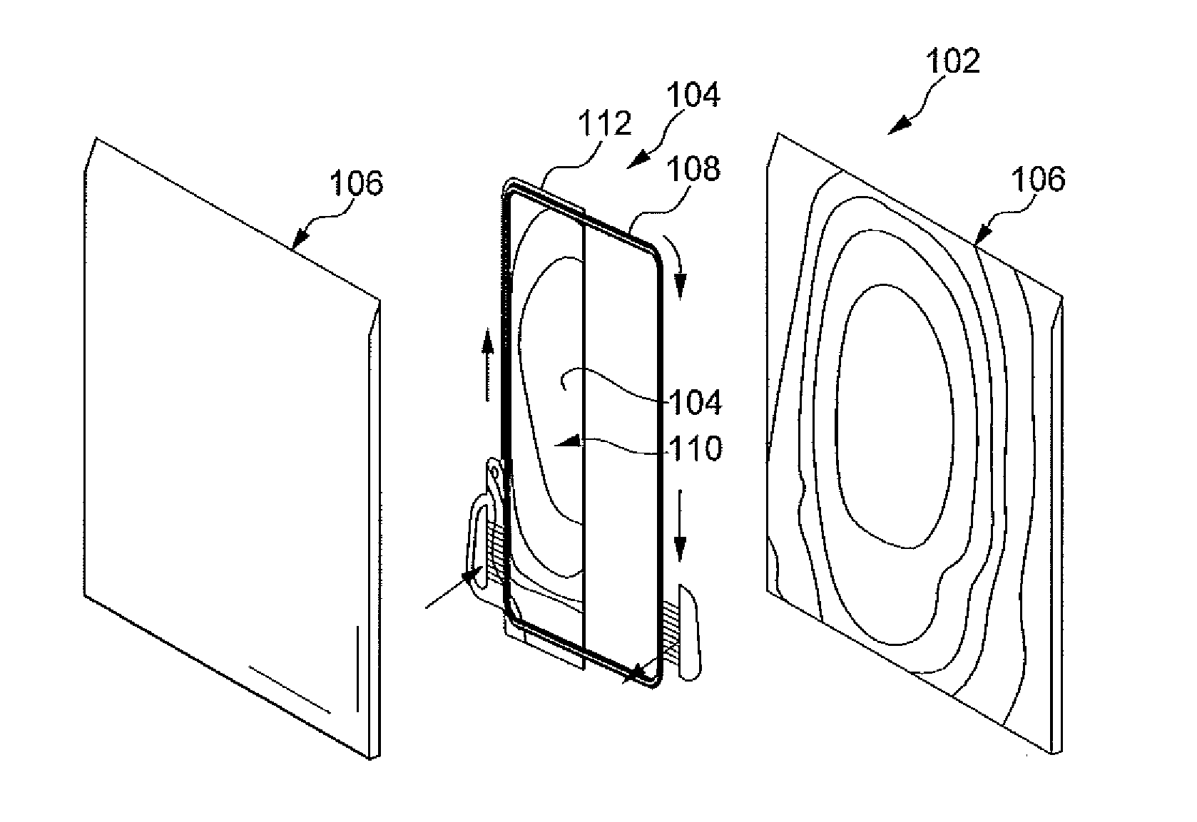 patent us20110162820 - cooling plate for lithium-ion battery pack