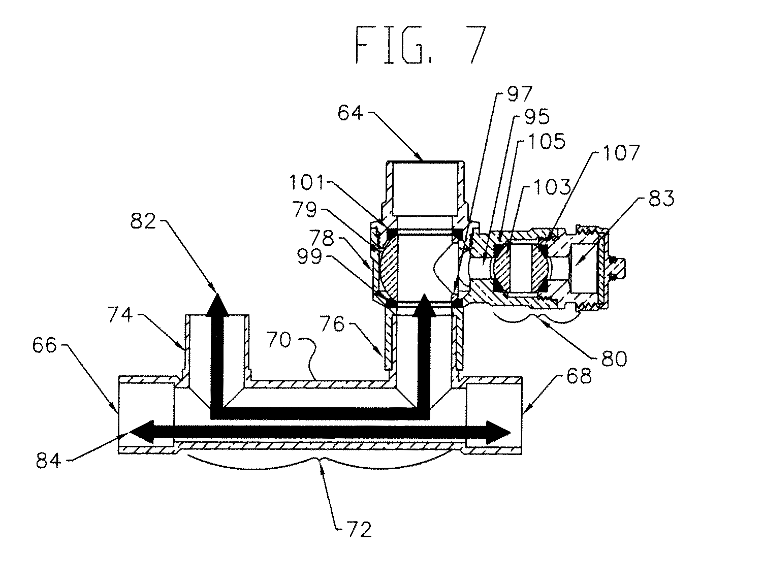 patent us20110168795 - primary  secondary loop piping system