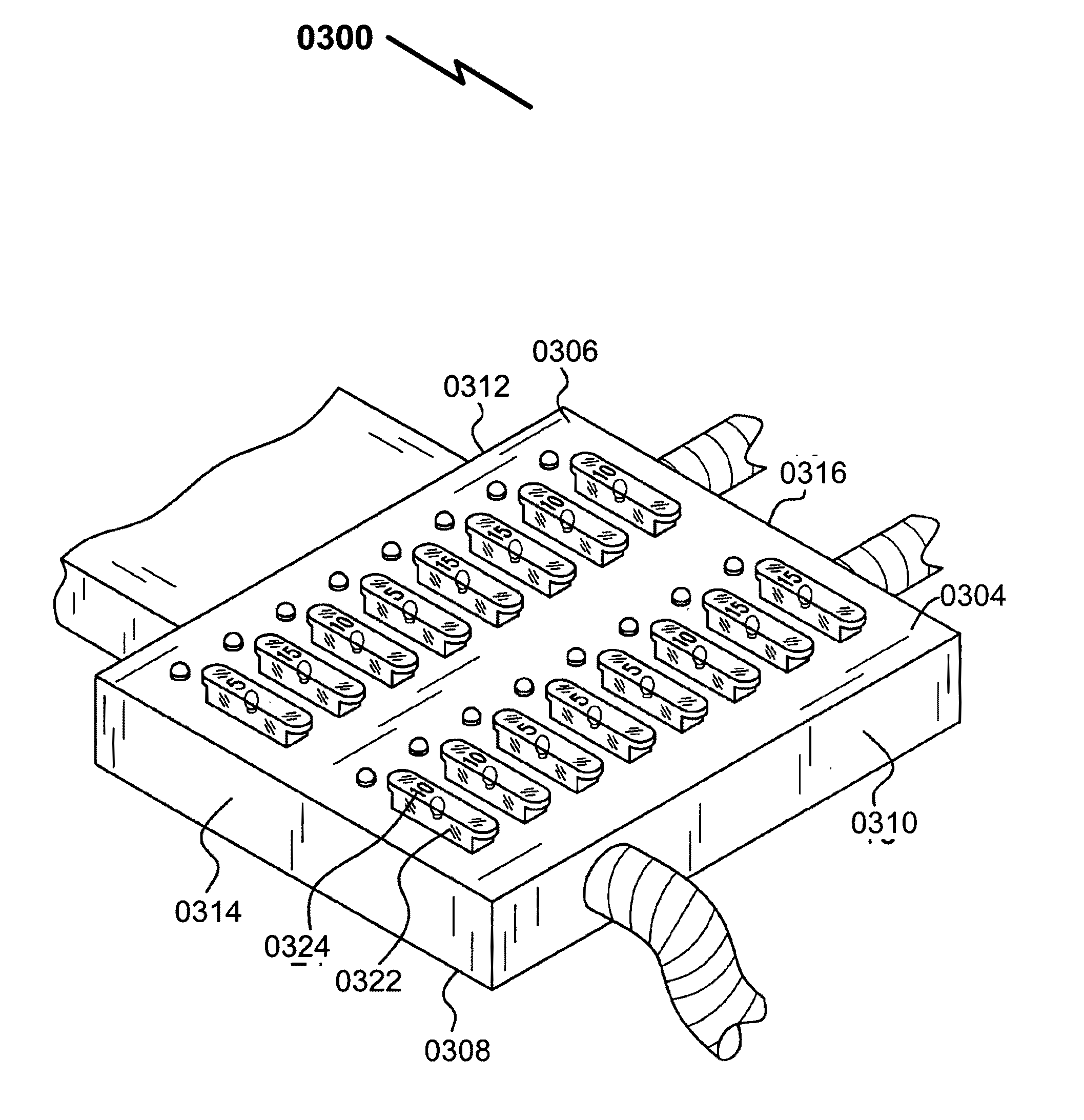 patent us20110175699 fuse box system and method google patents patent drawing