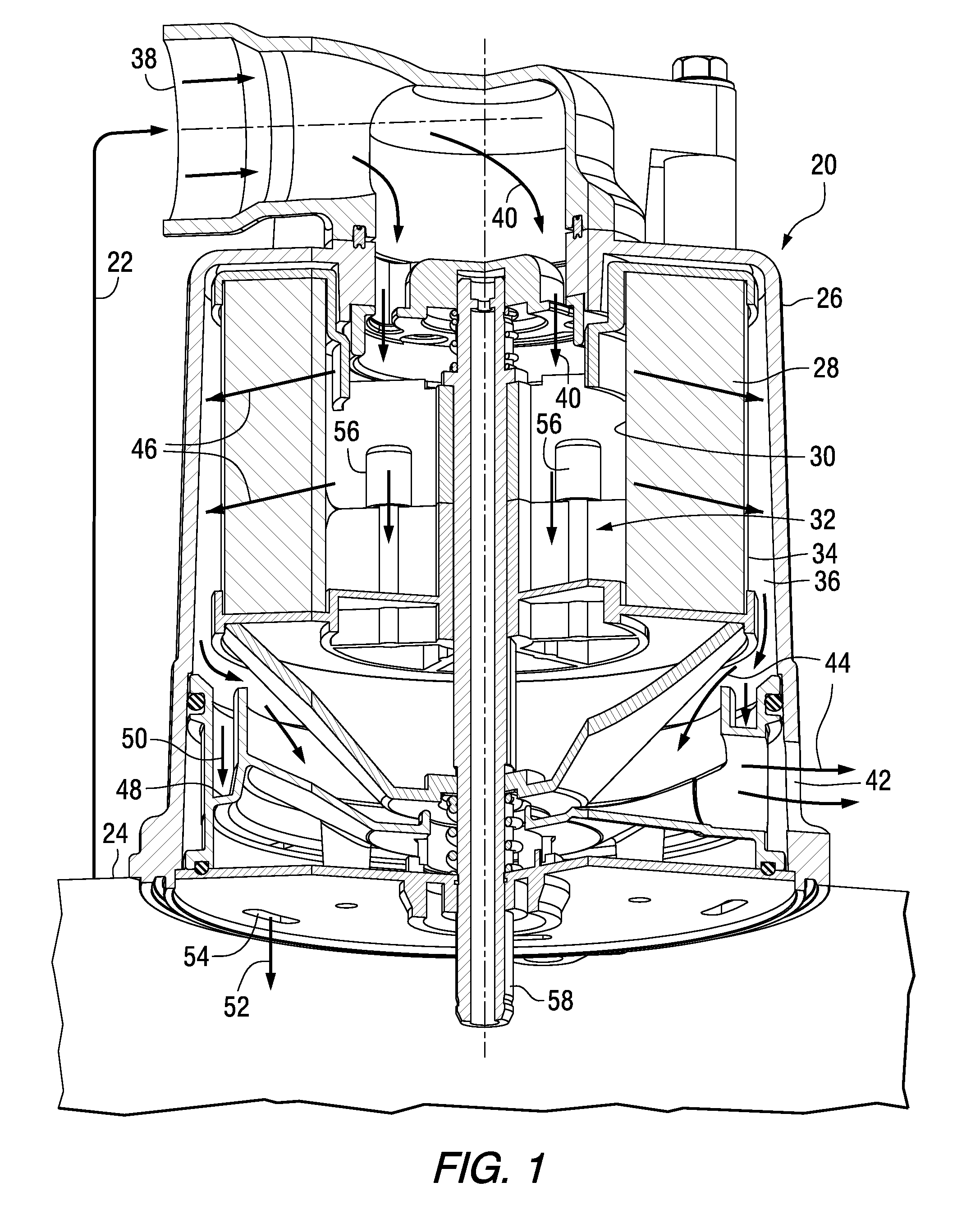 patent us20110180051 - crankcase ventilation inside-out flow rotating coalescer
